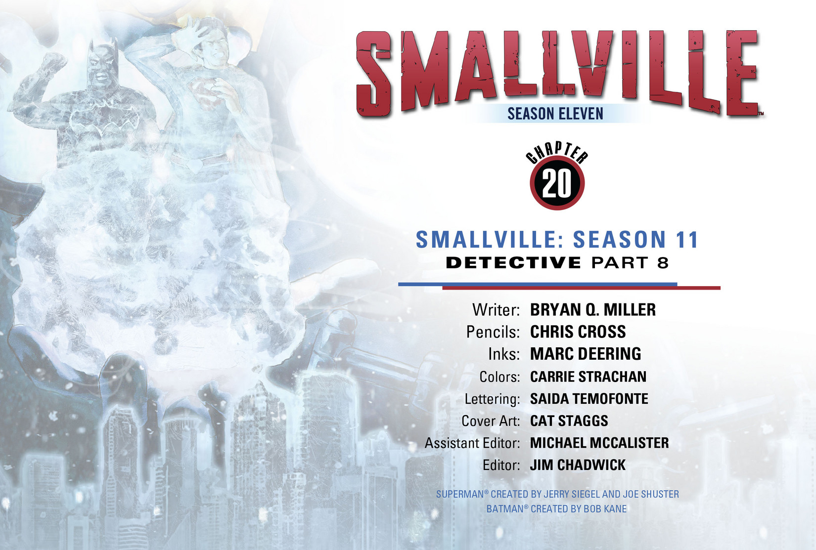 Read online Smallville: Season 11 comic -  Issue #20 - 2
