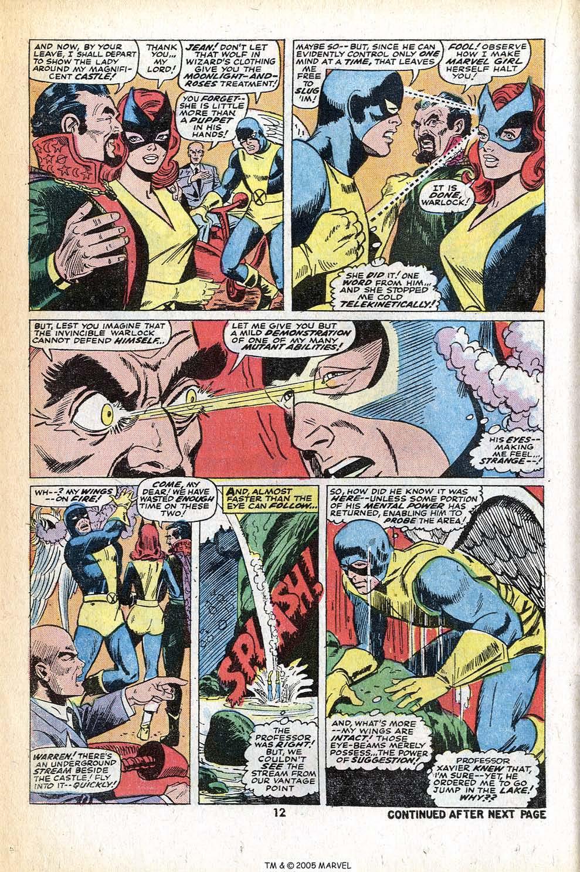 Read online Uncanny X-Men (1963) comic -  Issue #78 - 14