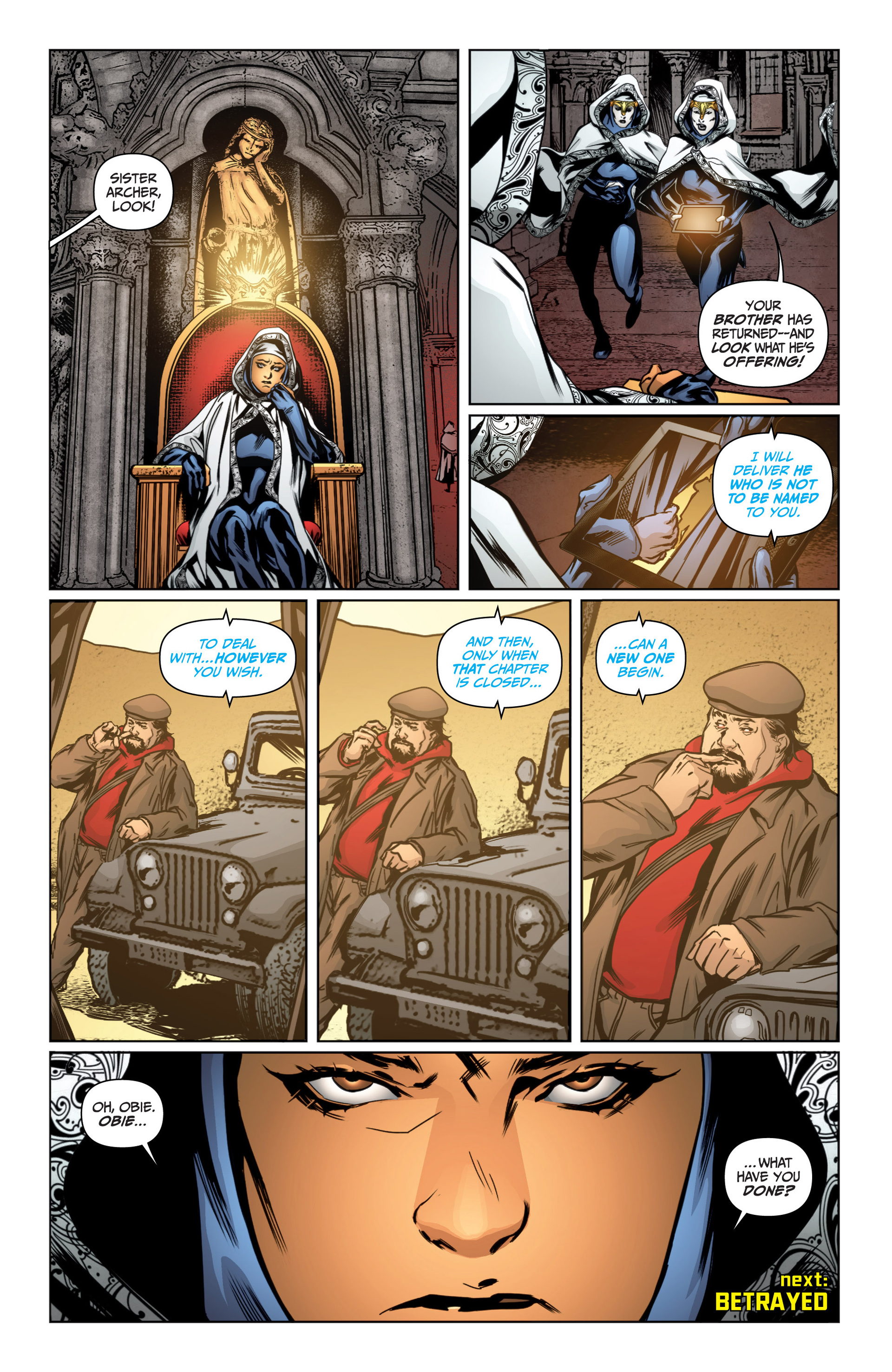 Read online Archer and Armstrong comic -  Issue #16 - 23