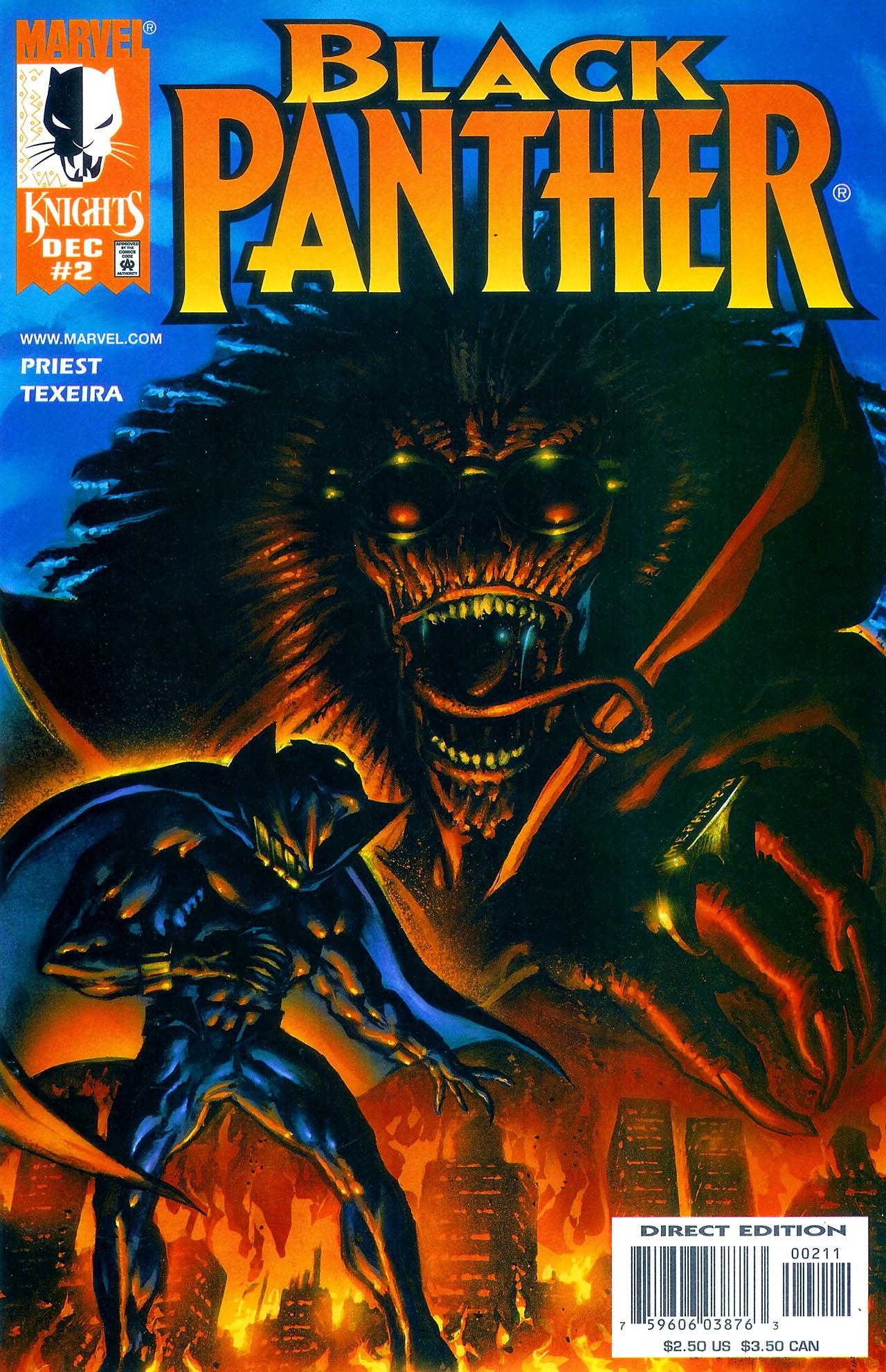 Black Panther (1998) 2 Page 1