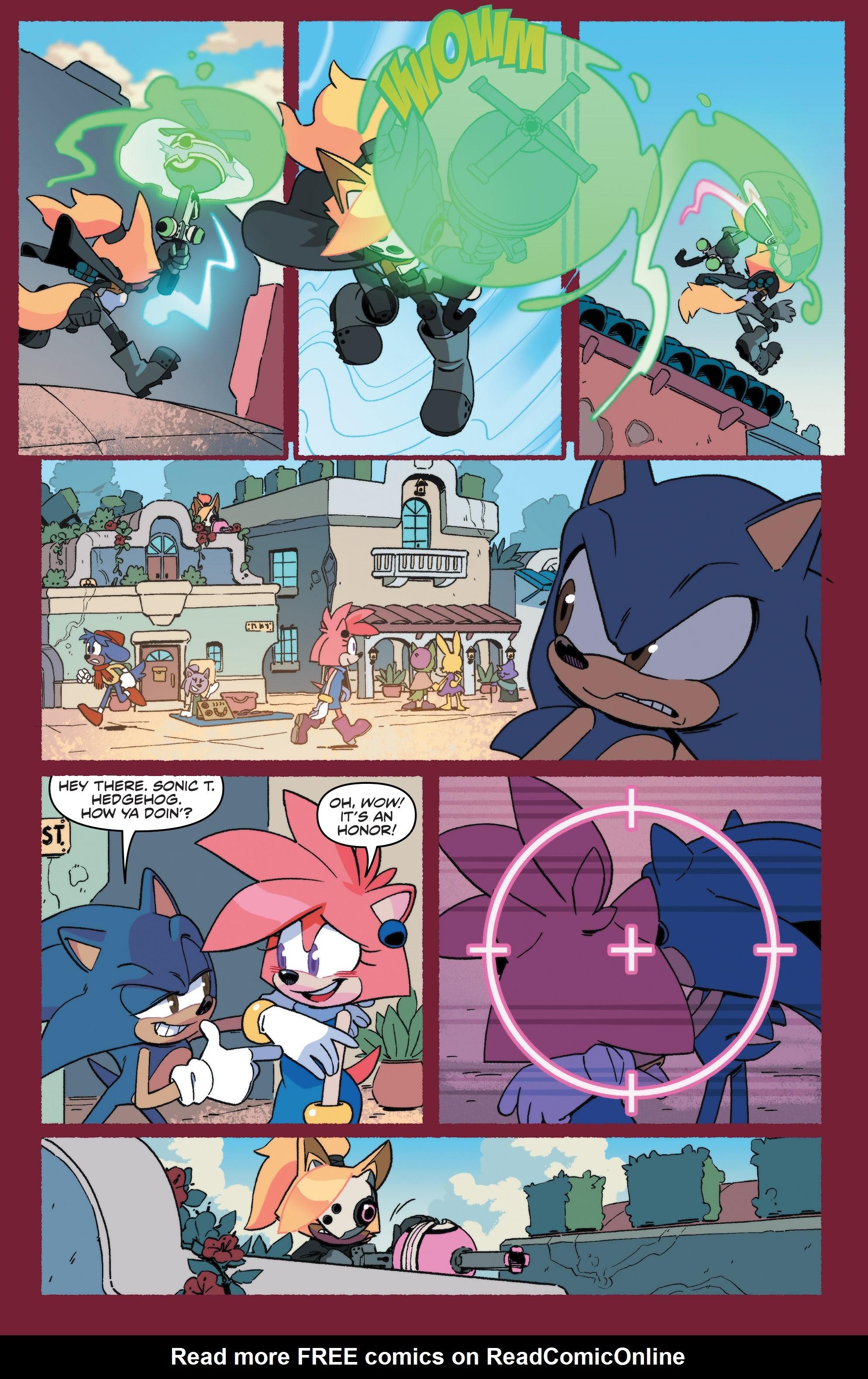 Sonic The Hedgehog Tangle Whisper 1 Read Sonic The Hedgehog Tangle Whisper Issue 1 Page 9