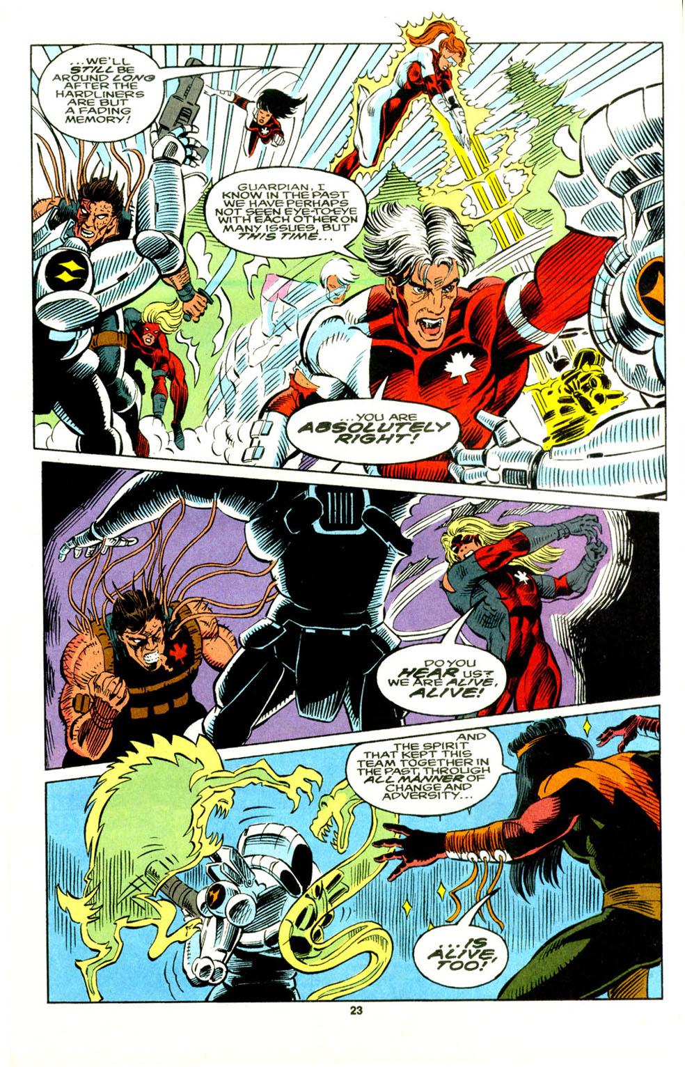 Read online Alpha Flight (1983) comic -  Issue #129 - 19