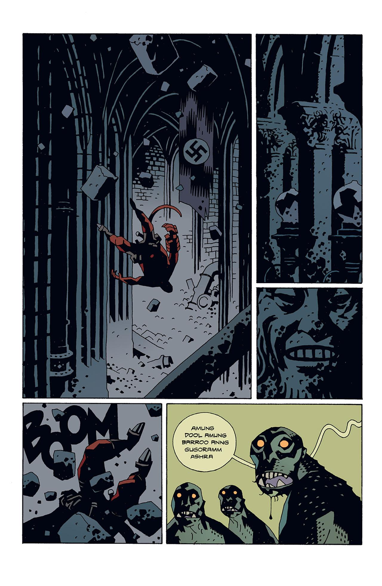 Read online Hellboy: Conqueror Worm comic -  Issue #3 - 15