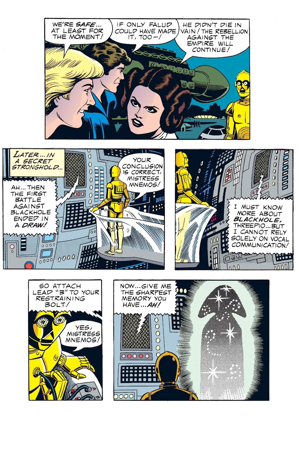 Read online Star Wars Legends: The Newspaper Strips - Epic Collection comic -  Issue # TPB (Part 1) - 74