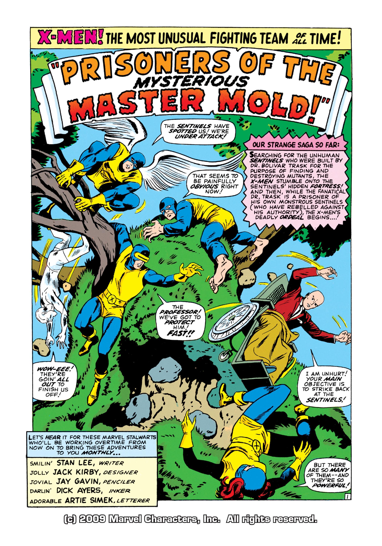 Read online Uncanny X-Men (1963) comic -  Issue #15 - 2
