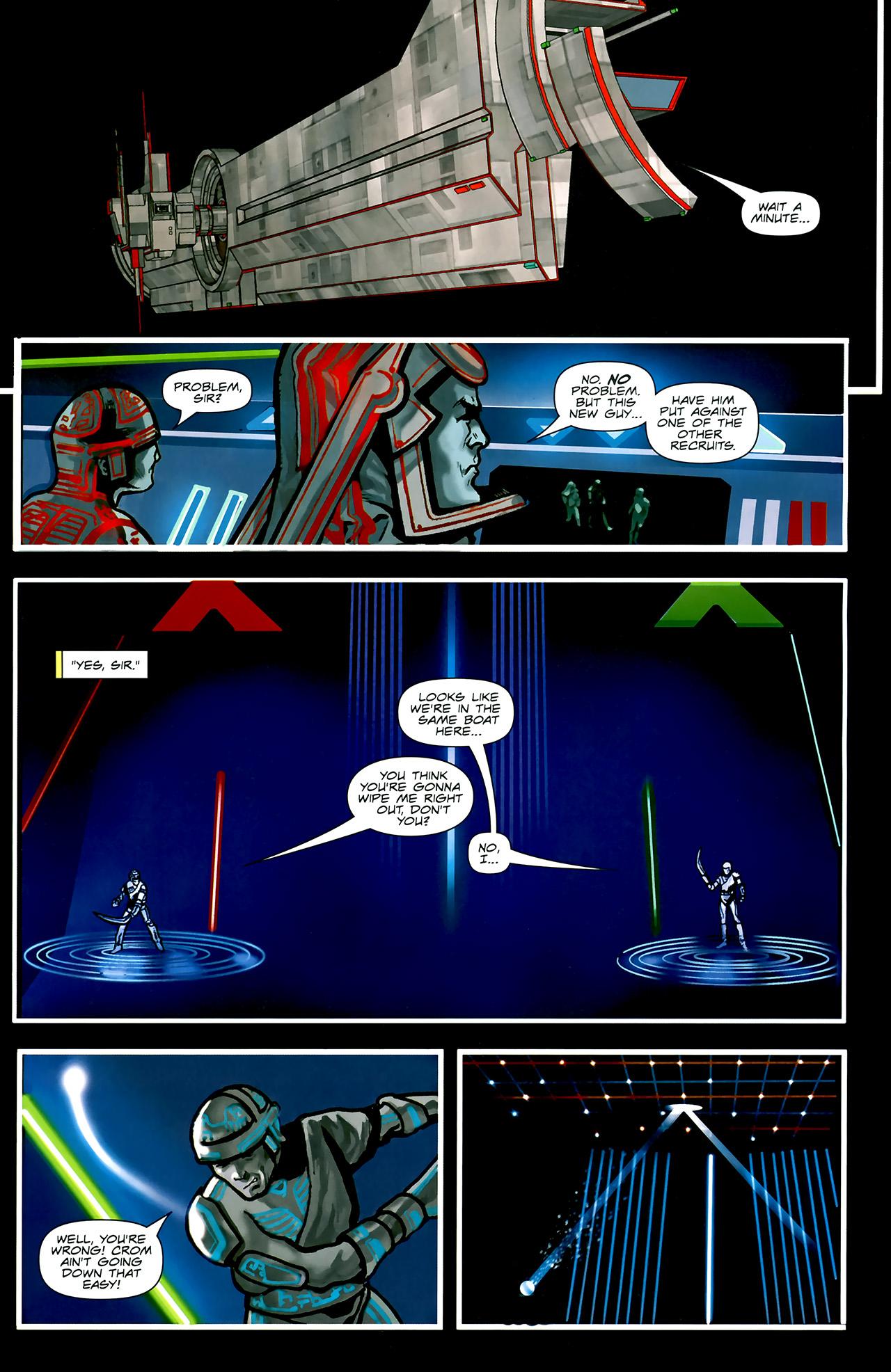 Read online TRON: Original Movie Adaptation comic -  Issue #2 - 4