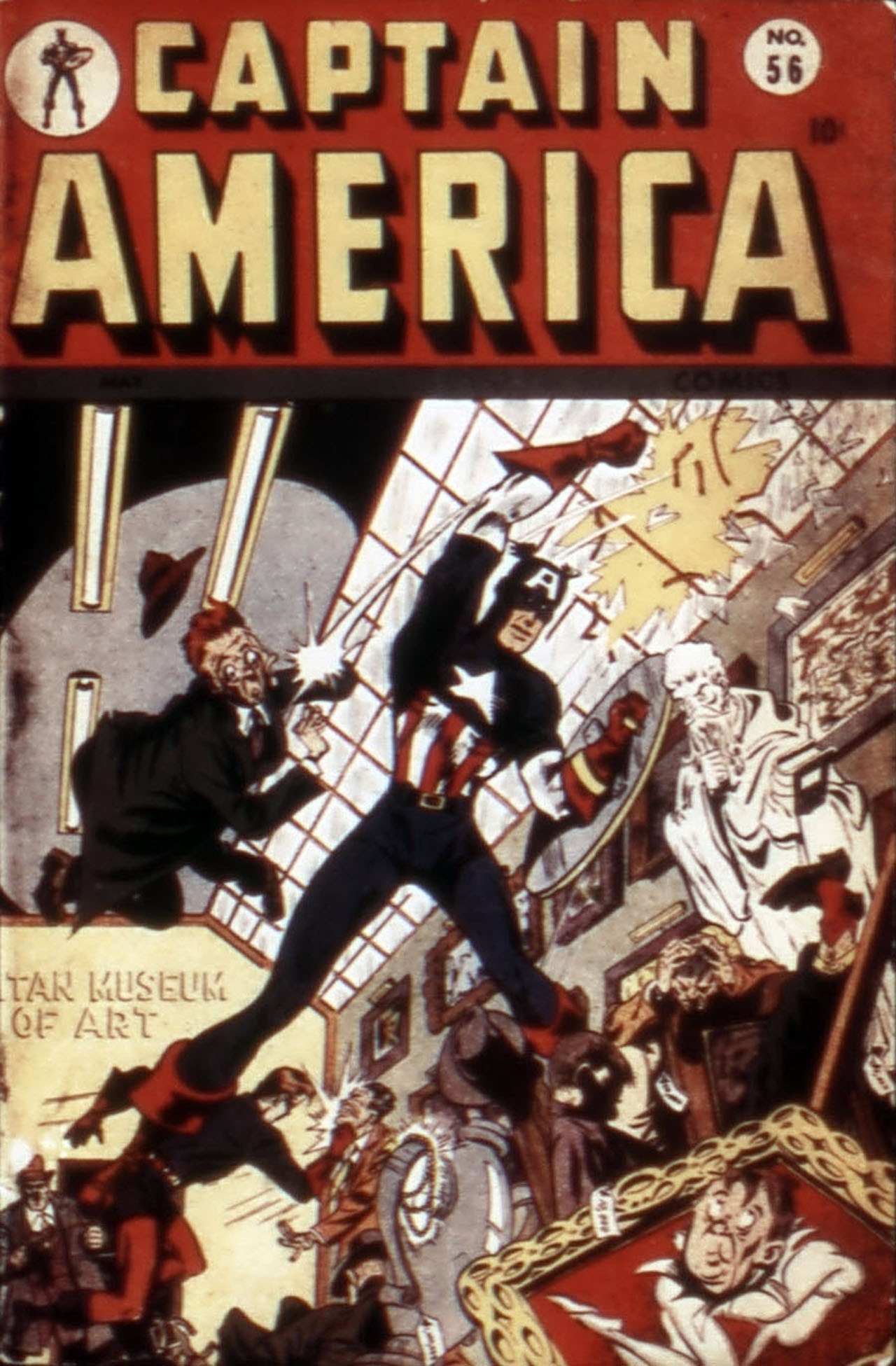 Captain America Comics 56 Page 1