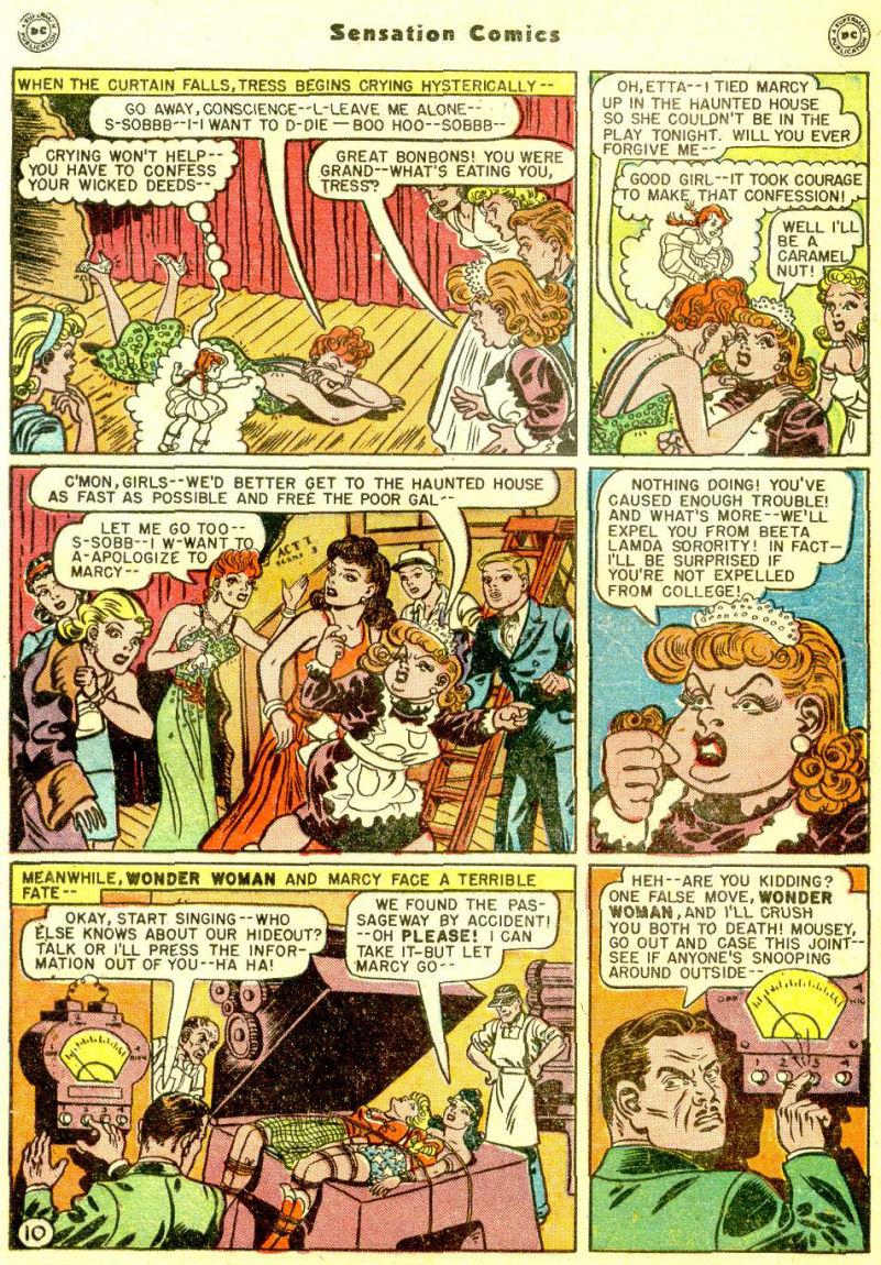 Read online Sensation (Mystery) Comics comic -  Issue #77 - 12