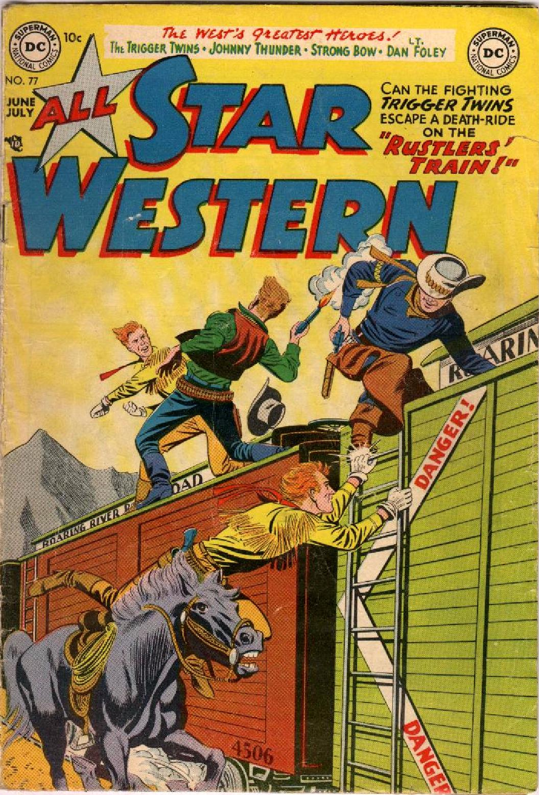 Read online All-Star Western (1951) comic -  Issue #77 - 1