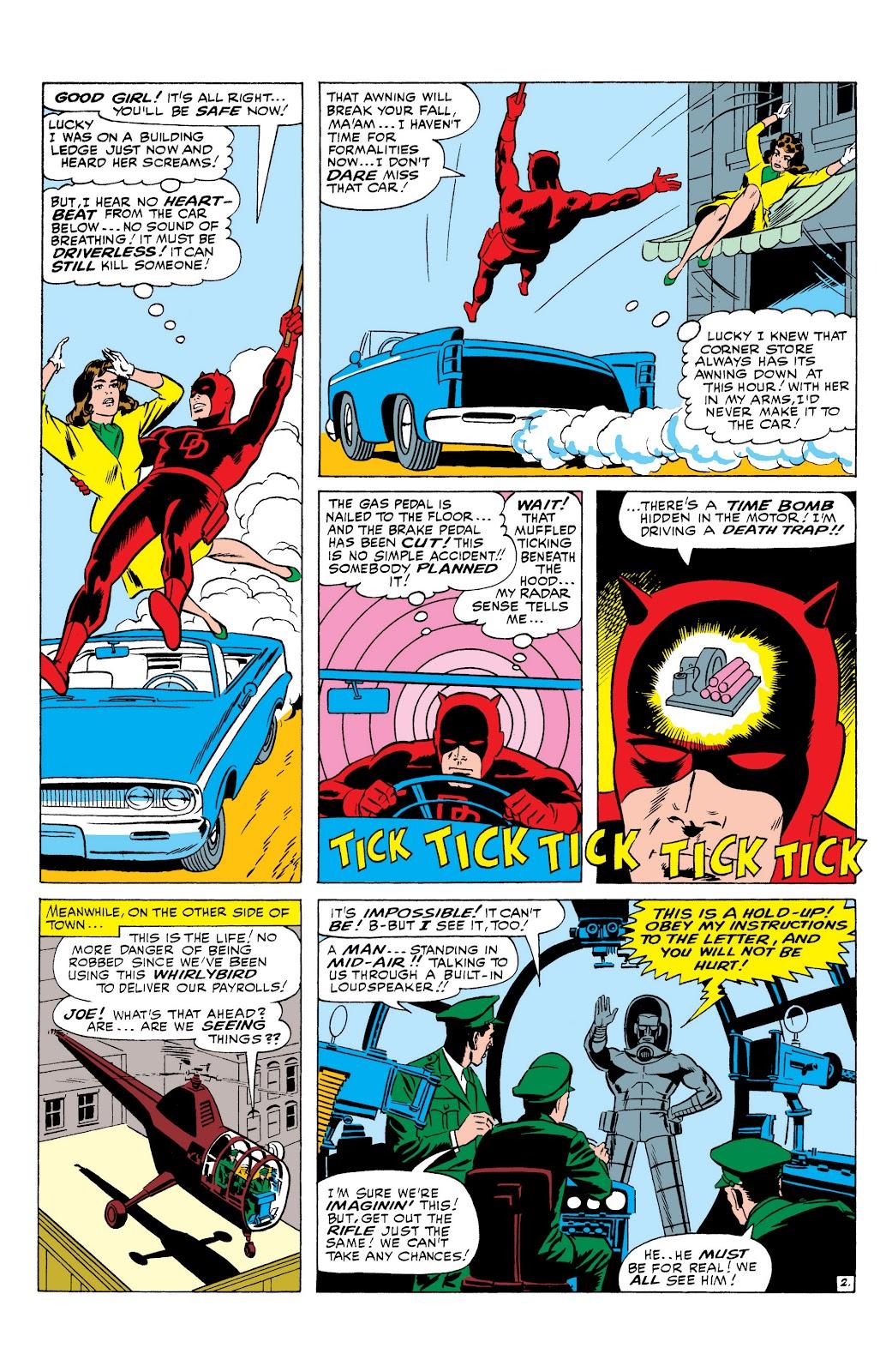 Read online Marvel Masterworks: Daredevil comic - Issue # TPB 1 (Part 2) - 66
