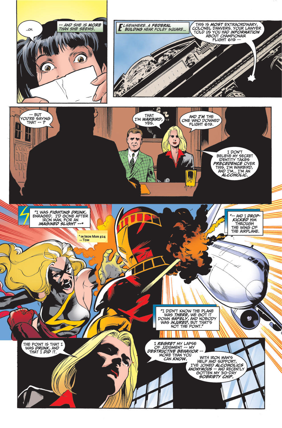 Read online Avengers (1998) comic -  Issue #26 - 4