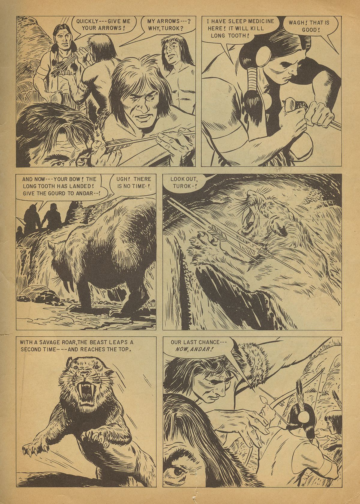 Read online Turok, Son of Stone comic -  Issue #4 - 35