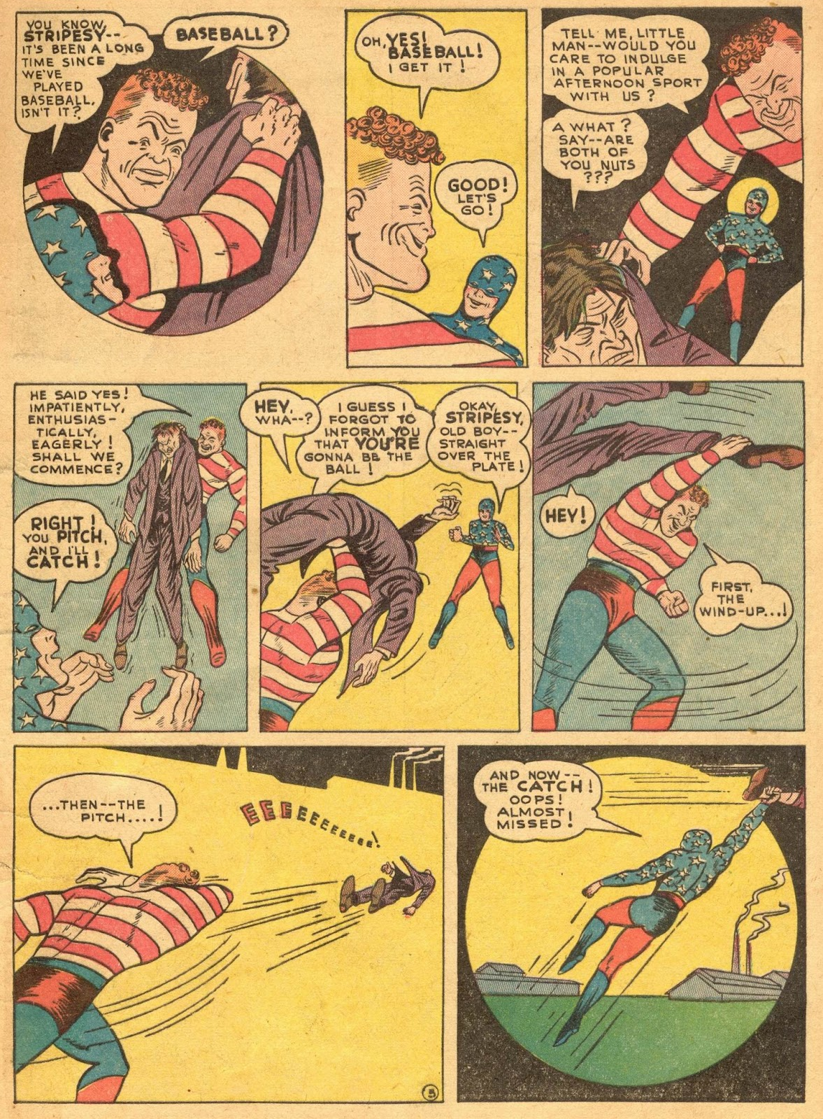 Star Spangled Comics (1941) issue 1 - Page 7