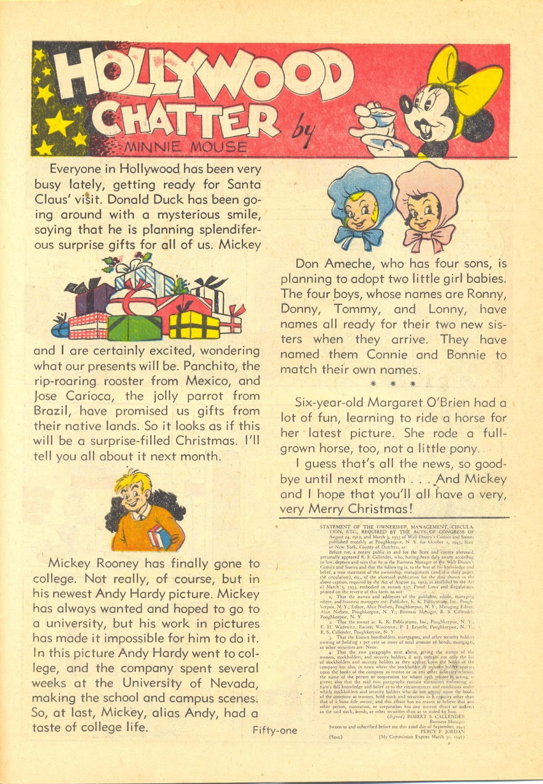 Walt Disney's Comics and Stories issue 40 - Page 53