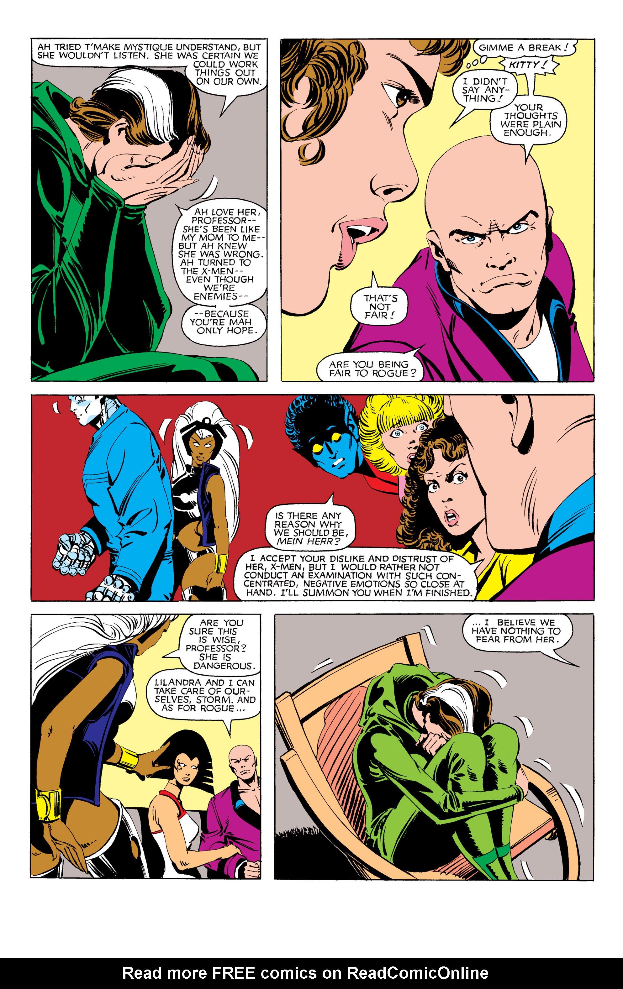 Read online Uncanny X-Men (1963) comic -  Issue #171 - 12