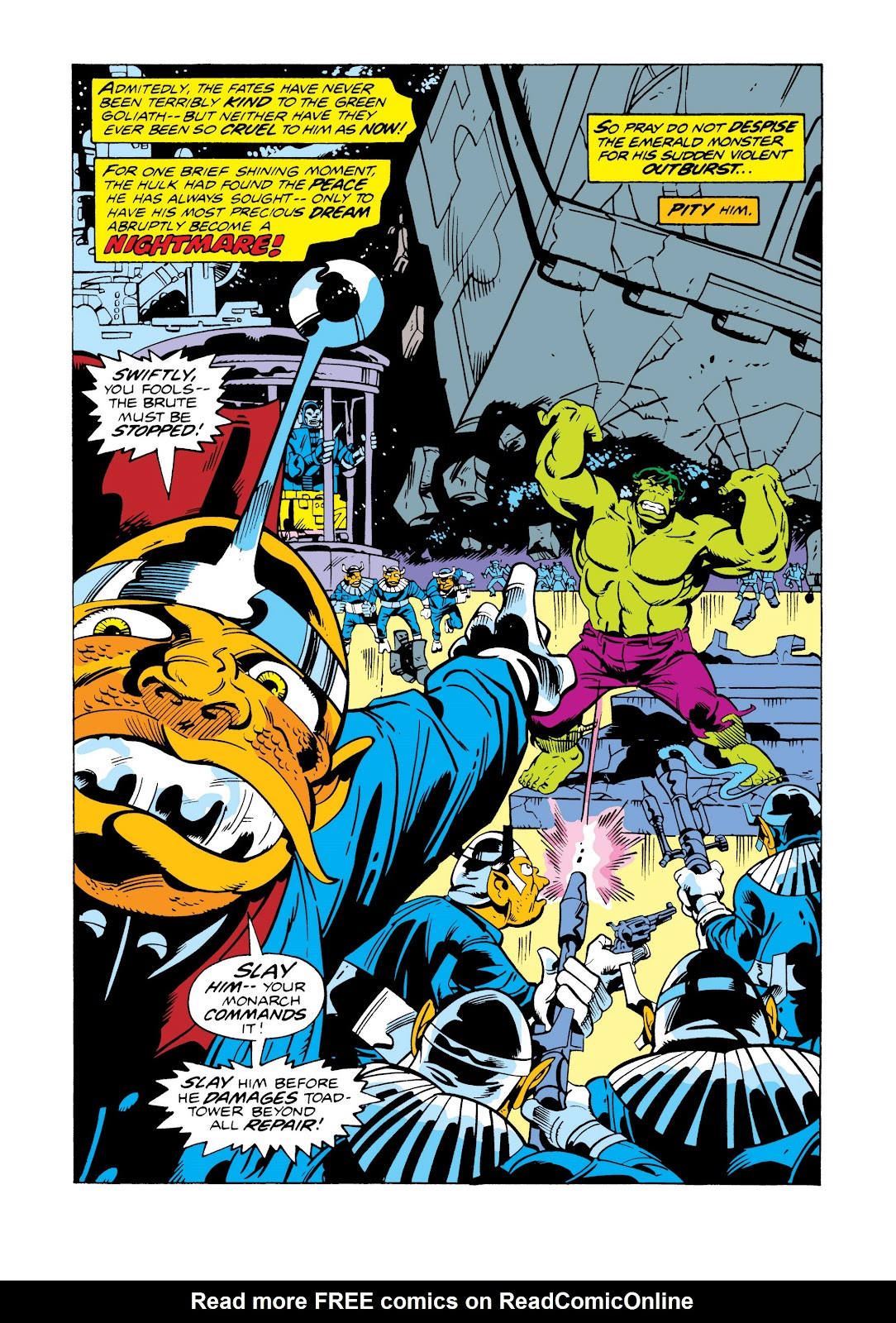 Read online Marvel Masterworks: The Incredible Hulk comic -  Issue # TPB 11 (Part 2) - 53