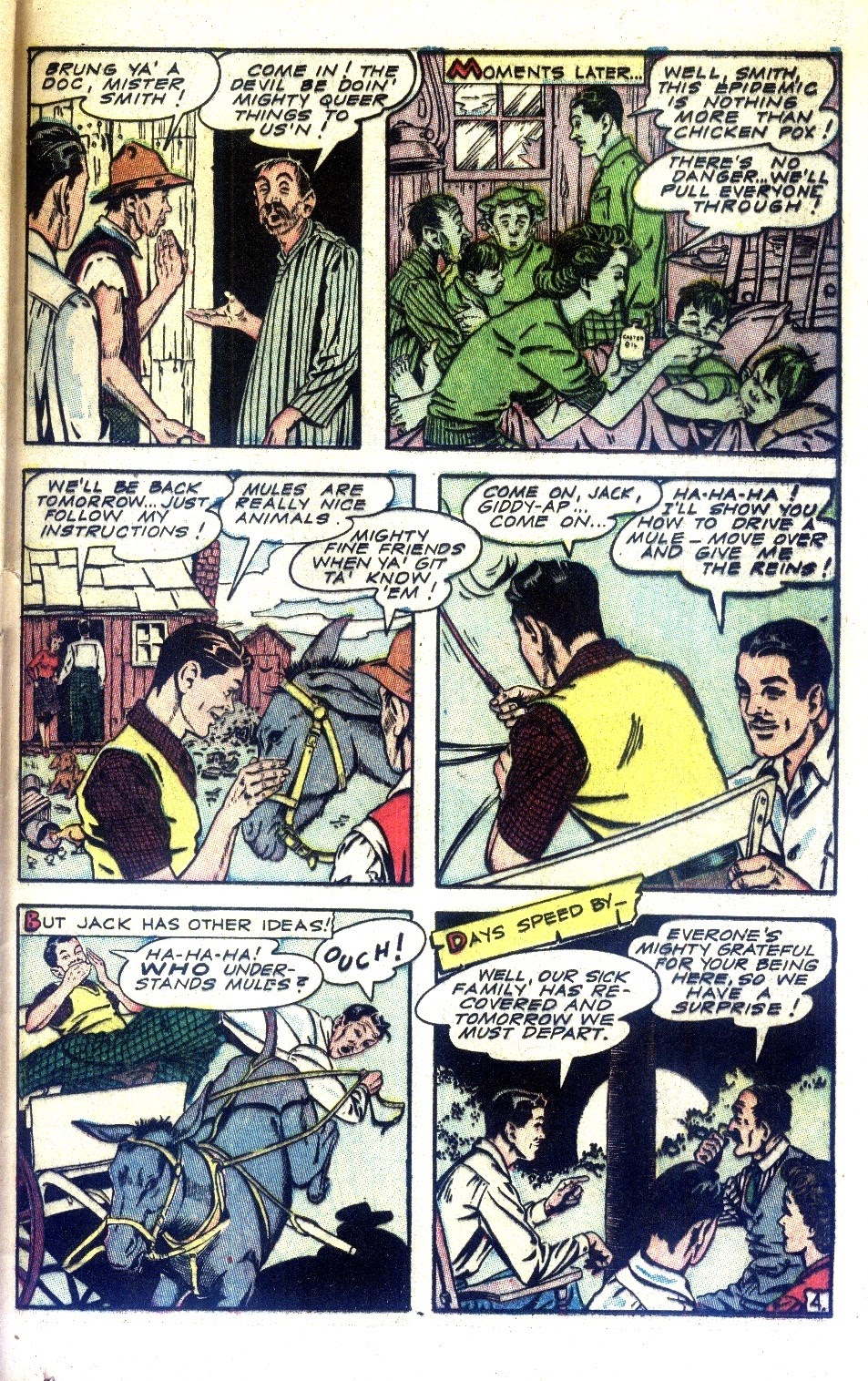 Read online Nellie The Nurse (1945) comic -  Issue #2 - 37