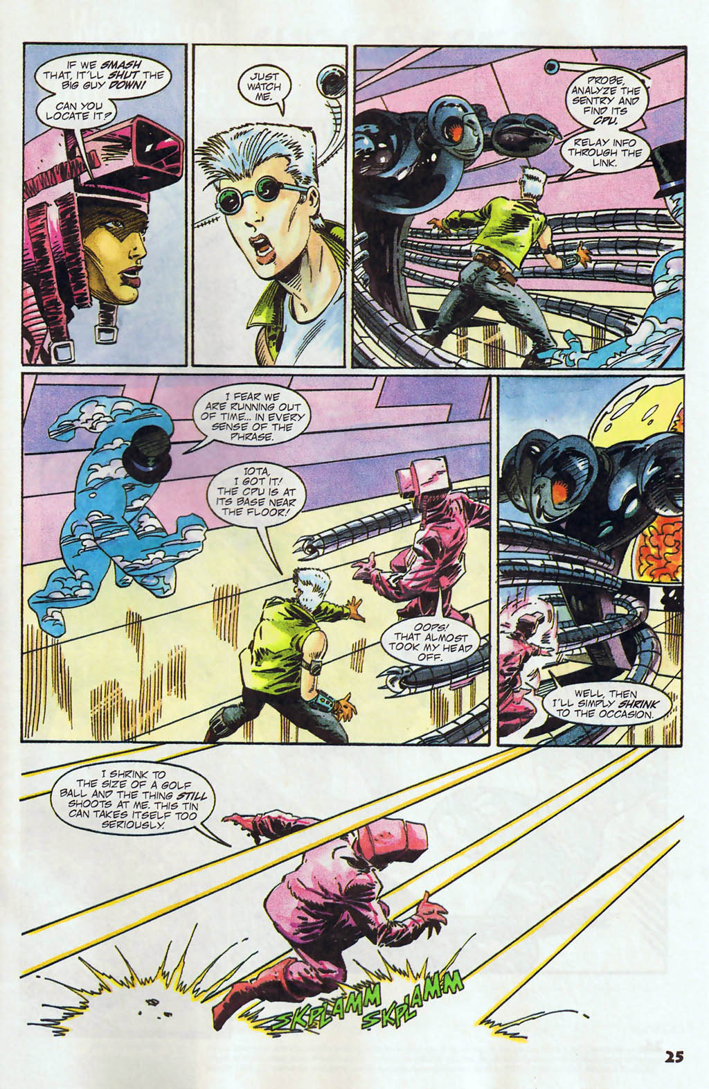 Read online Shadow Cabinet comic -  Issue #12 - 19