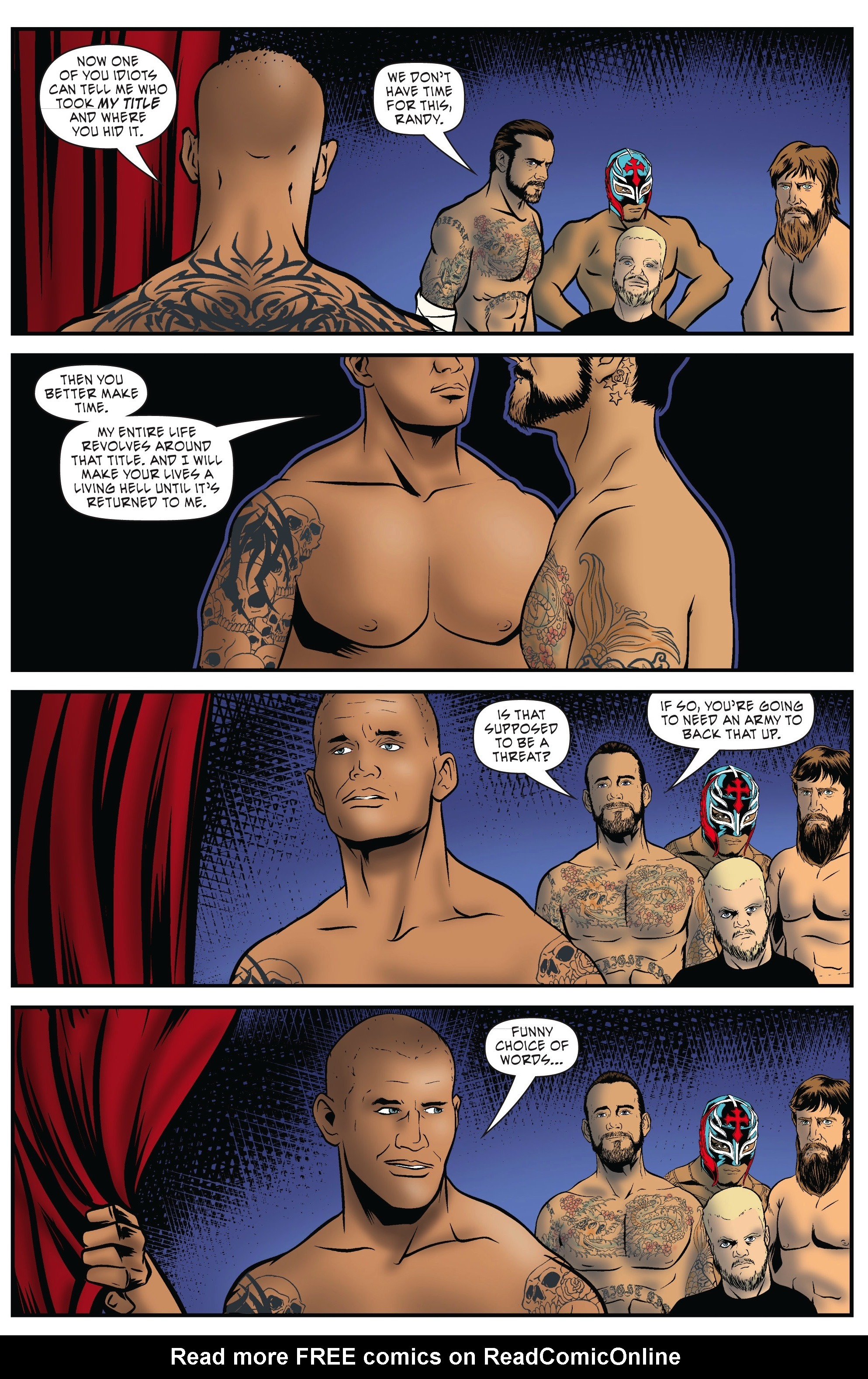 Read online WWE Superstars comic -  Issue #5 - 21