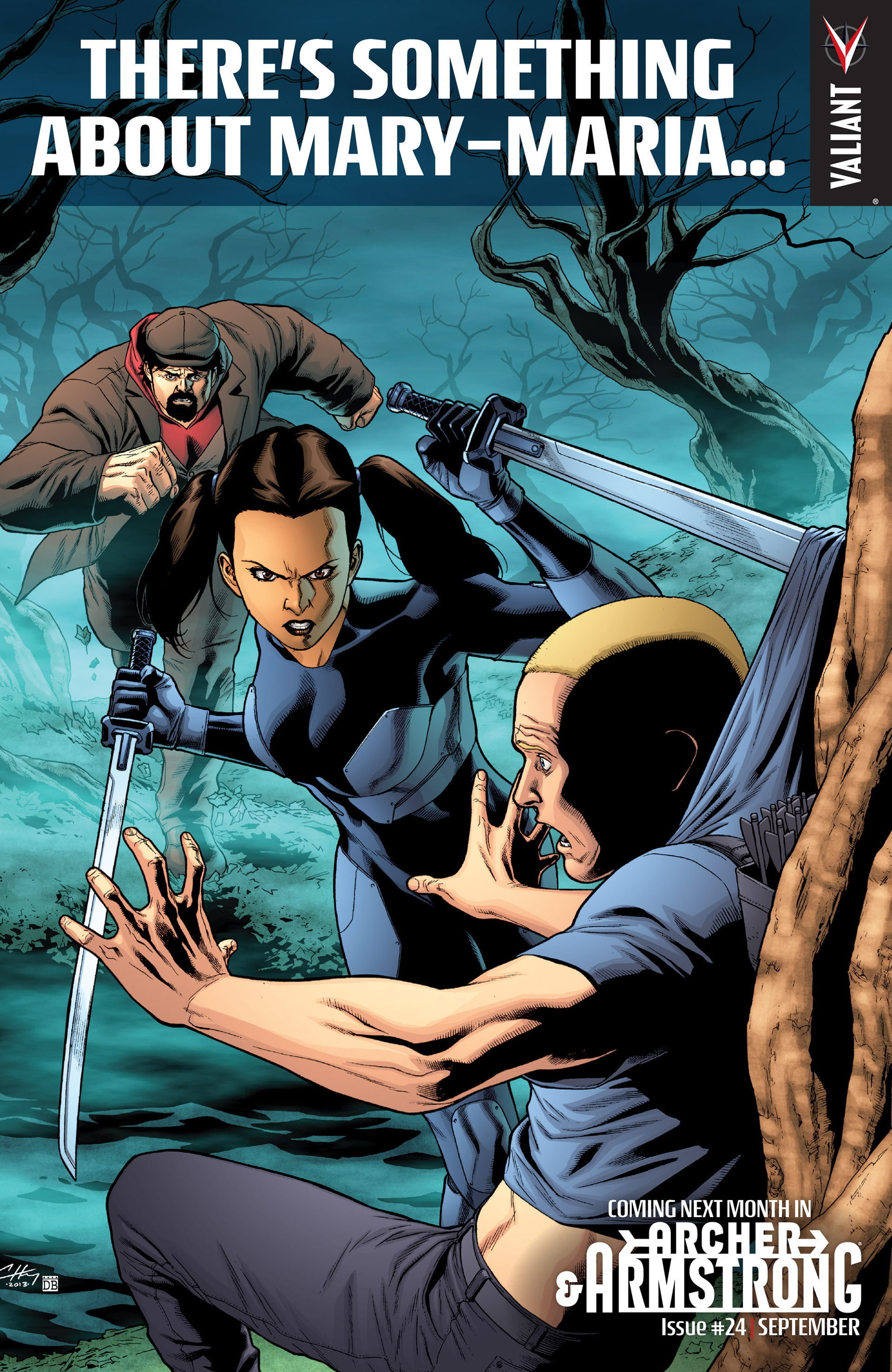 Read online Archer and Armstrong comic -  Issue #23 - 25