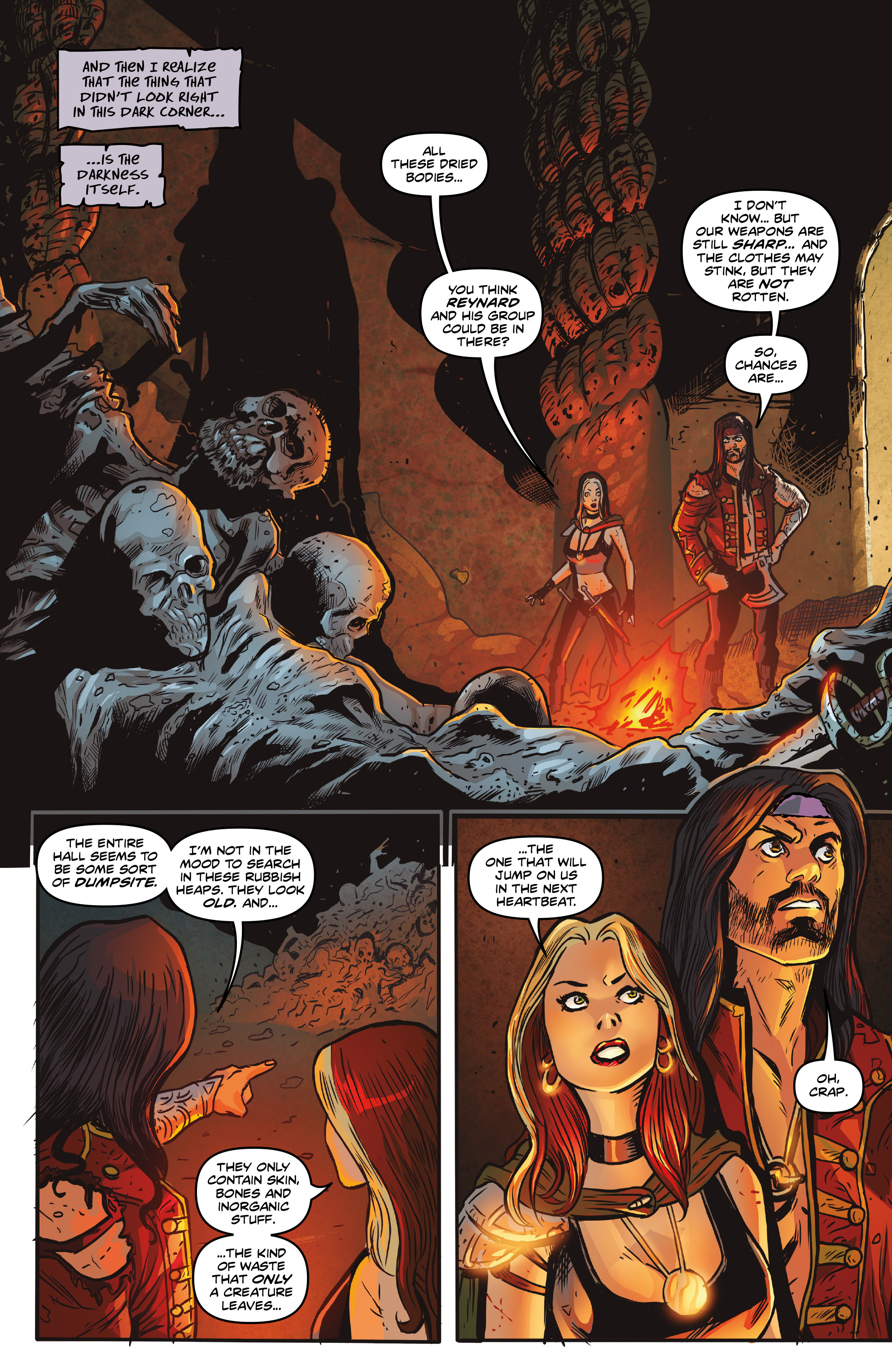 Read online Rogues!: The Burning Heart comic -  Issue #5 - 7