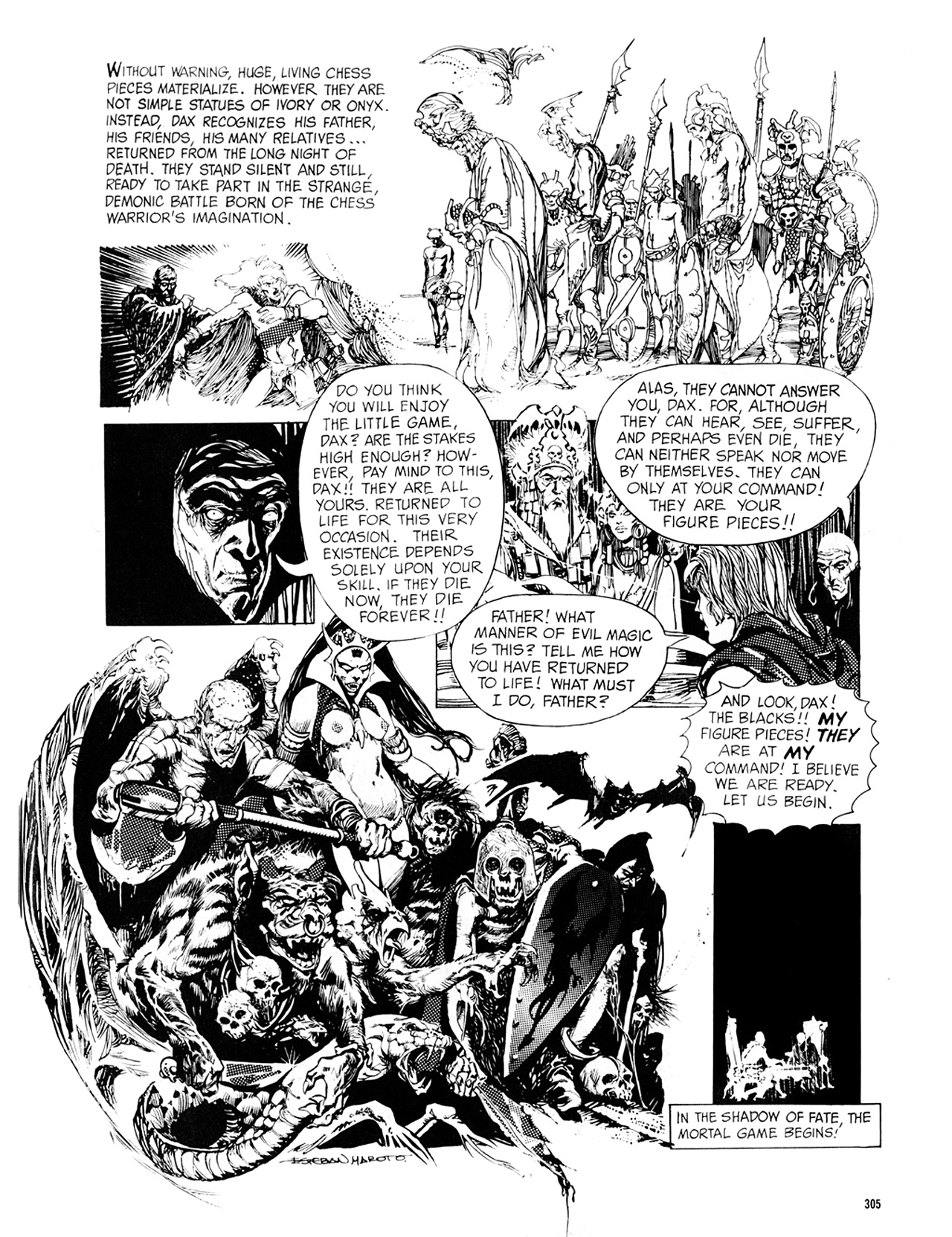 Read online Eerie Archives comic -  Issue # TPB 8 - 306