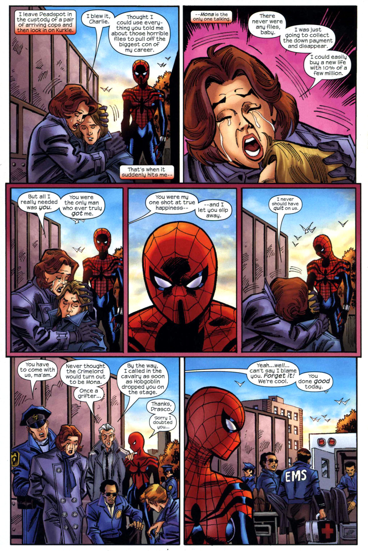 Read online Amazing Spider-Girl comic -  Issue #18 - 19