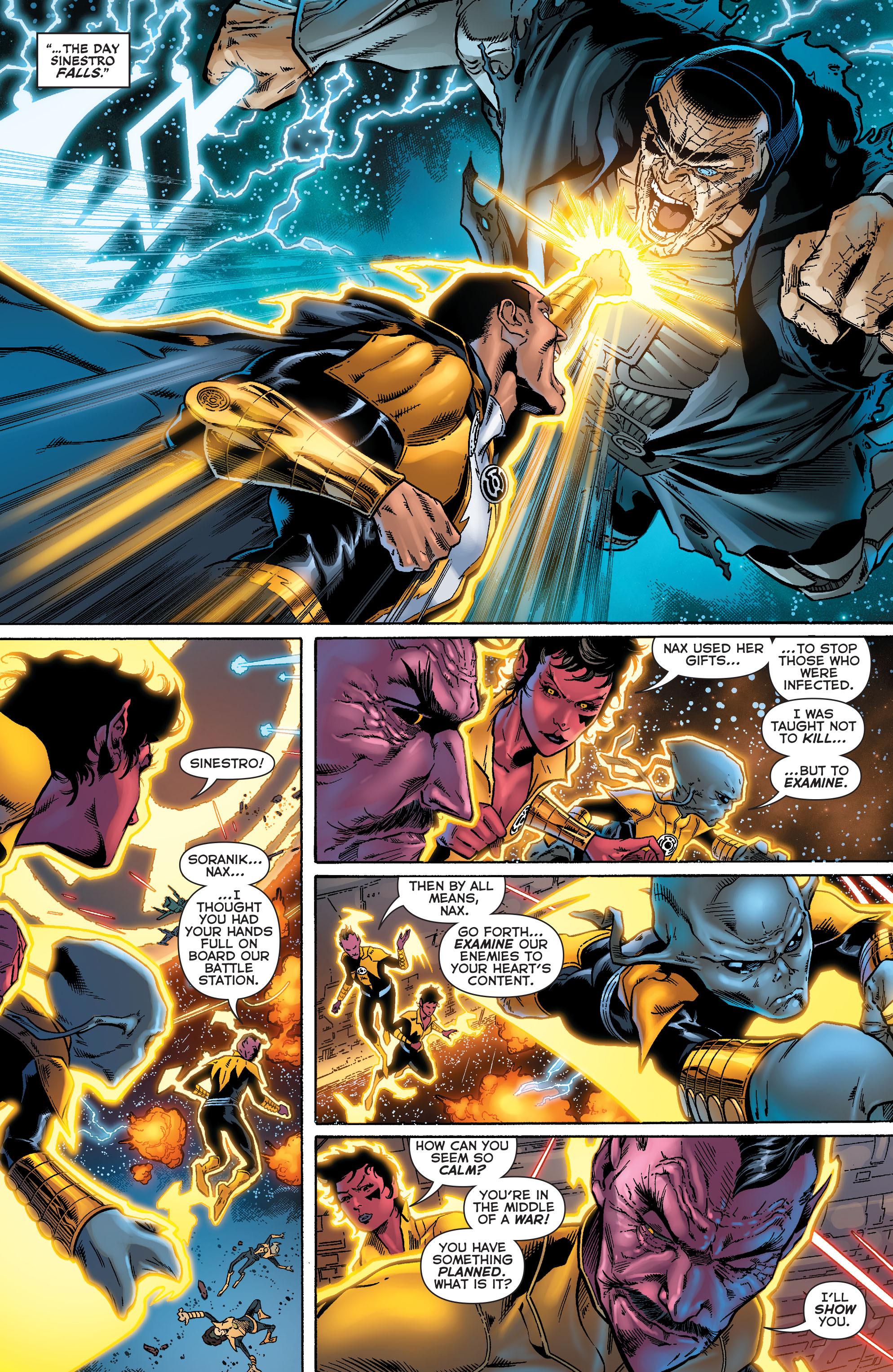 Read online Sinestro comic -  Issue #18 - 16