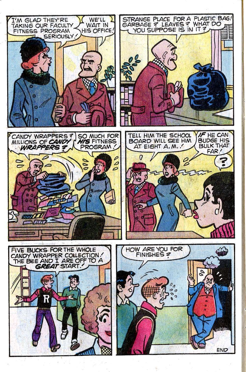 Read online Archie (1960) comic -  Issue #278 - 8