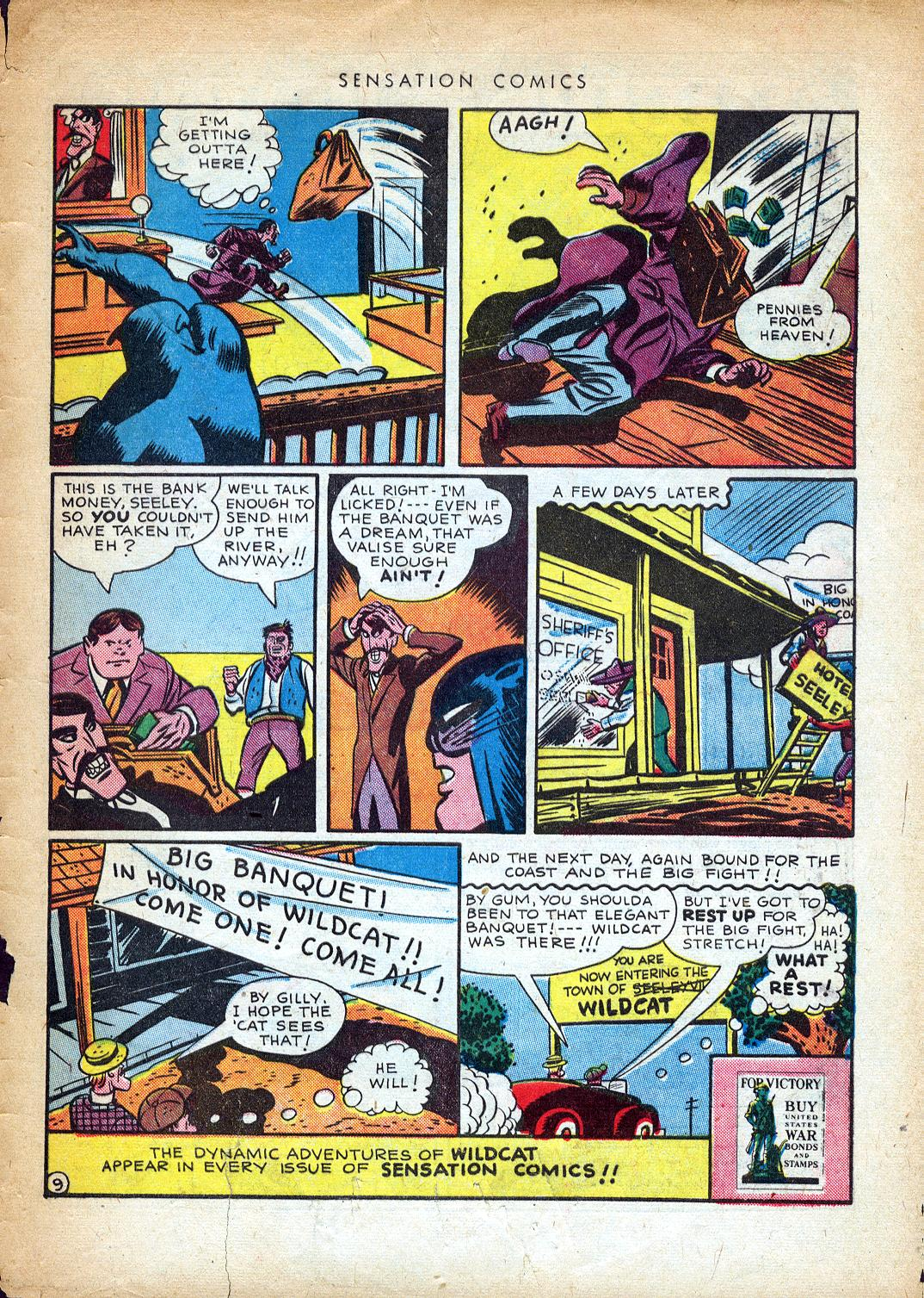 Read online Sensation (Mystery) Comics comic -  Issue #37 - 49