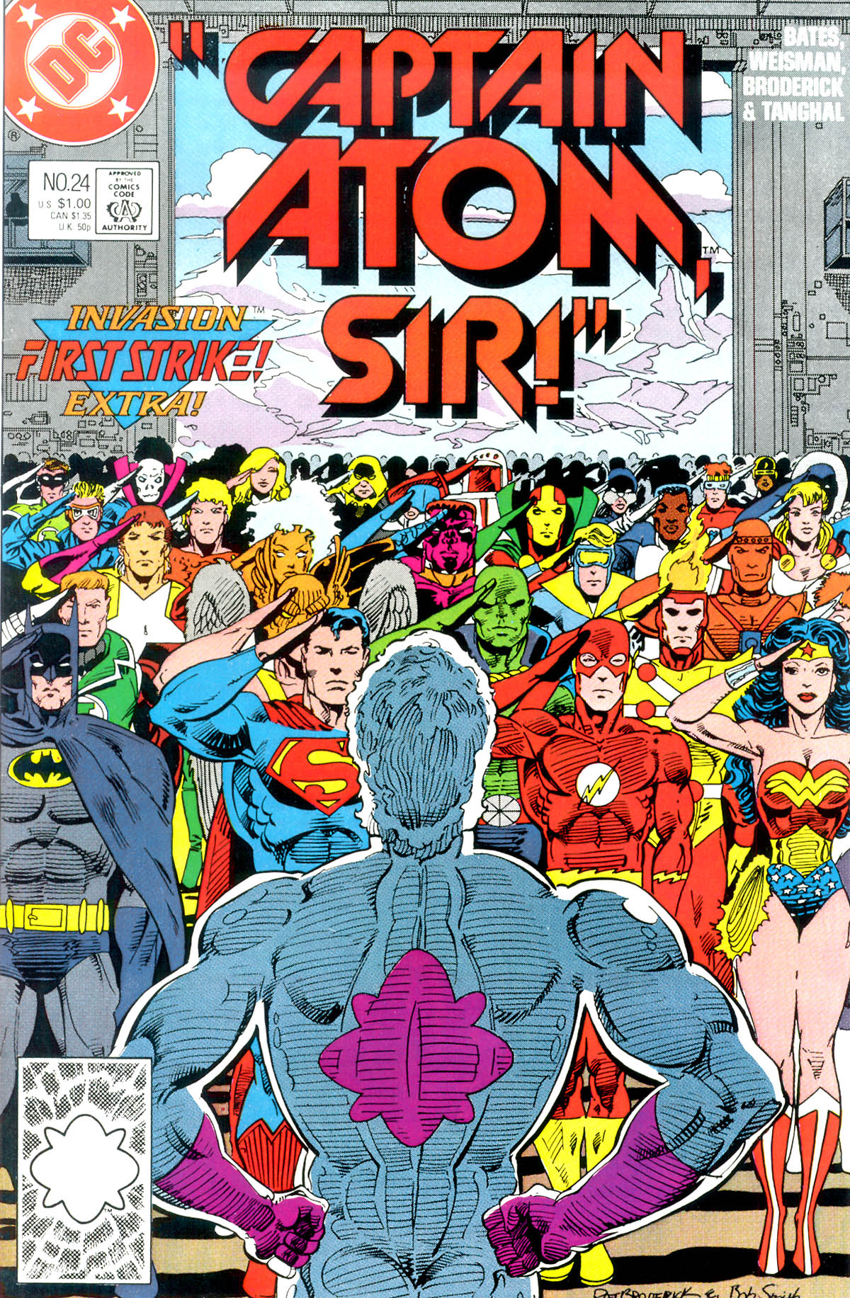 Captain Atom (1987) 24 Page 1