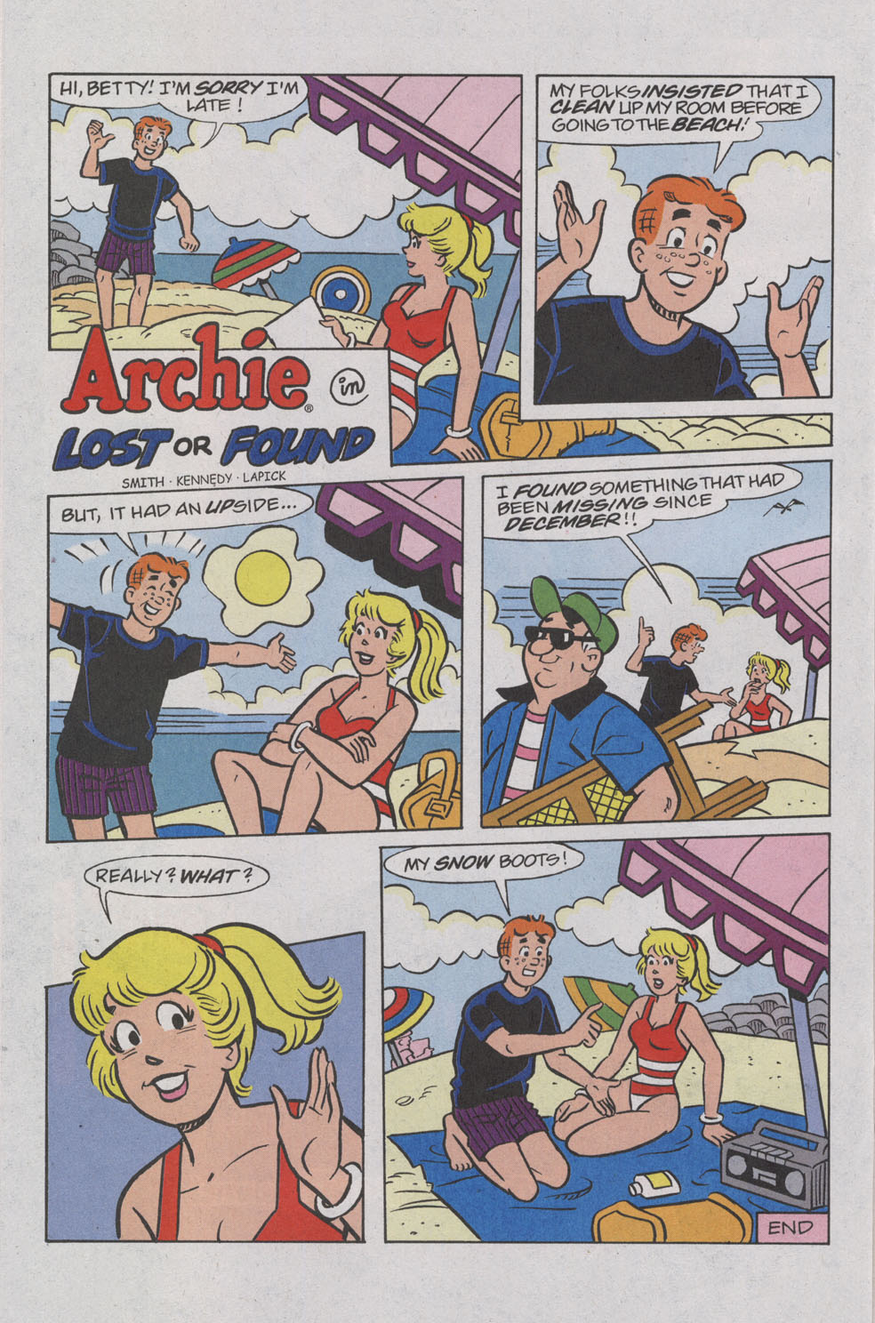 Read online Archie (1960) comic -  Issue #539 - 20