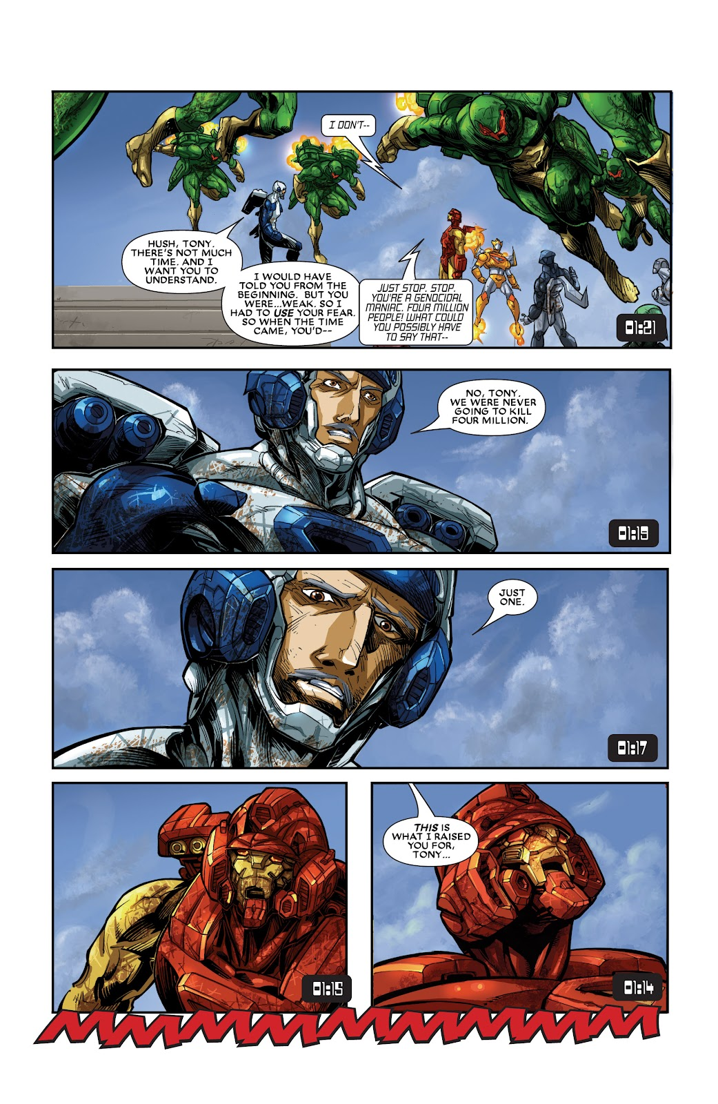 Iron Man: House of M Issue #3 #3 - English 18