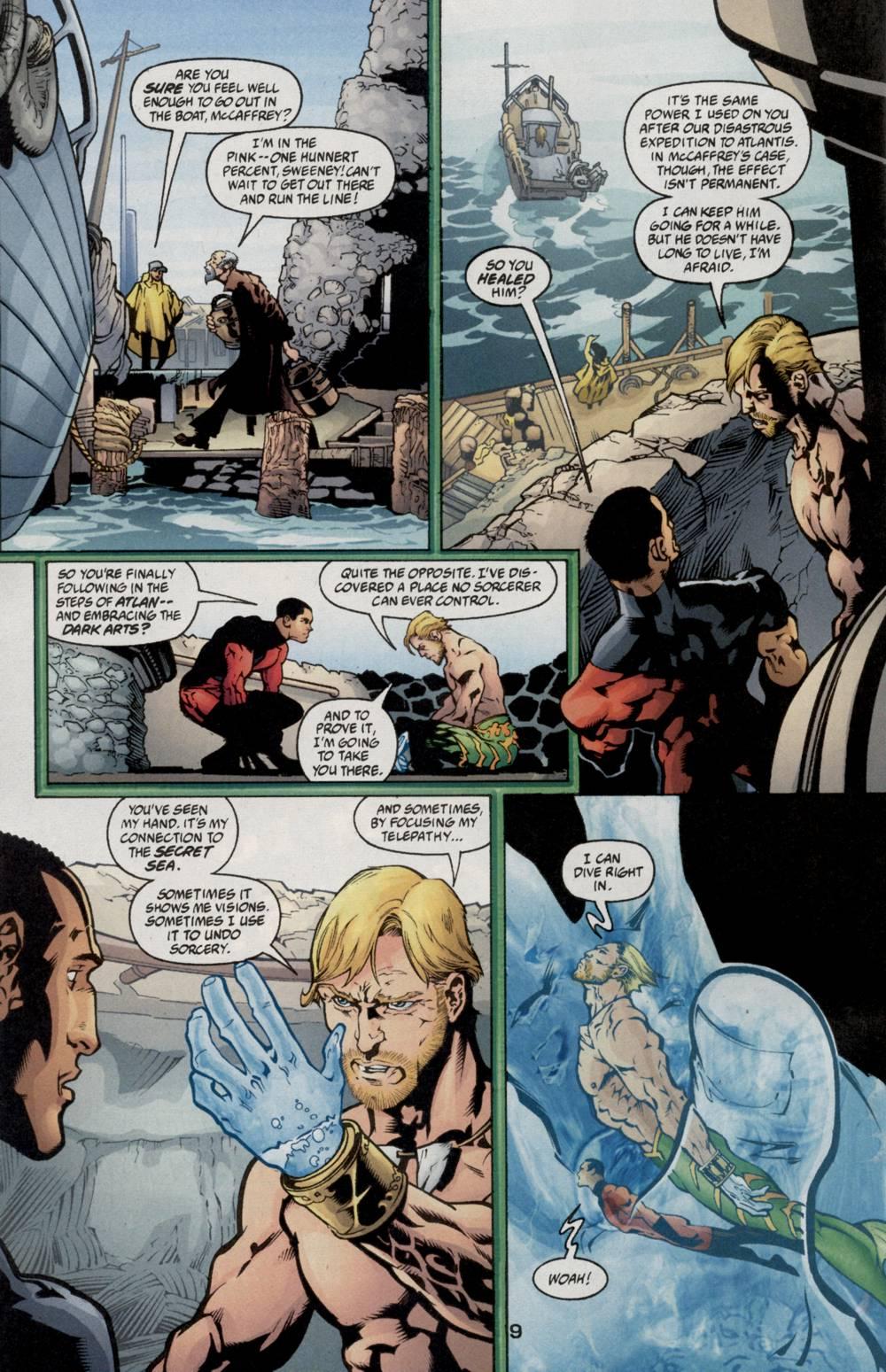 Read online Aquaman (2003) comic -  Issue #5 - 11