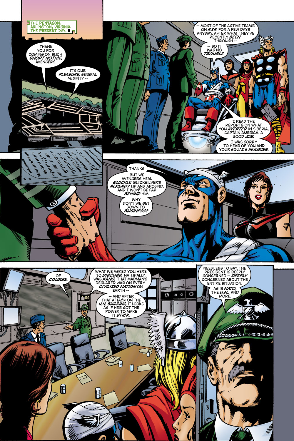 Read online Avengers (1998) comic -  Issue #45 - 6