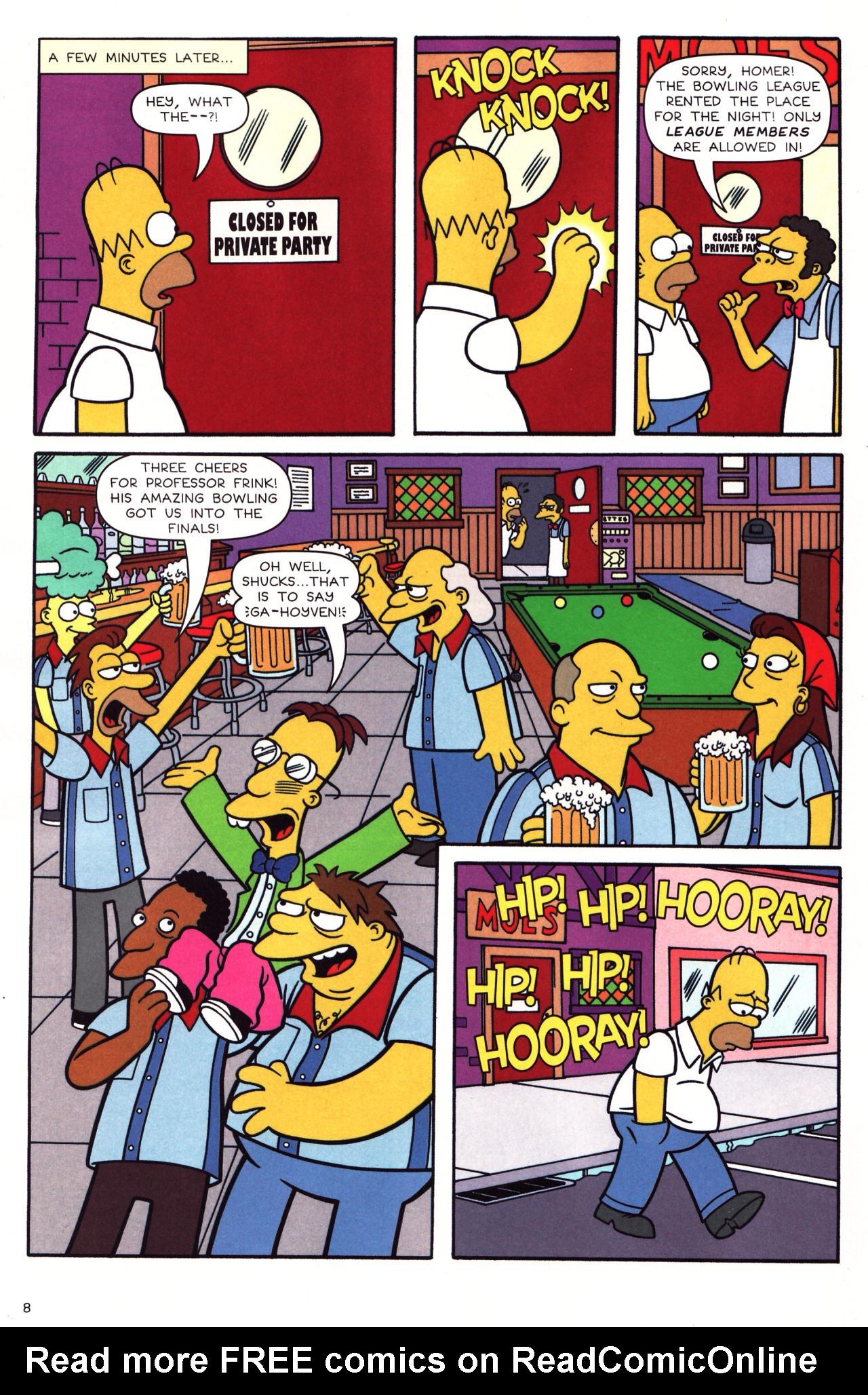 Read online Simpsons Comics comic -  Issue #136 - 7