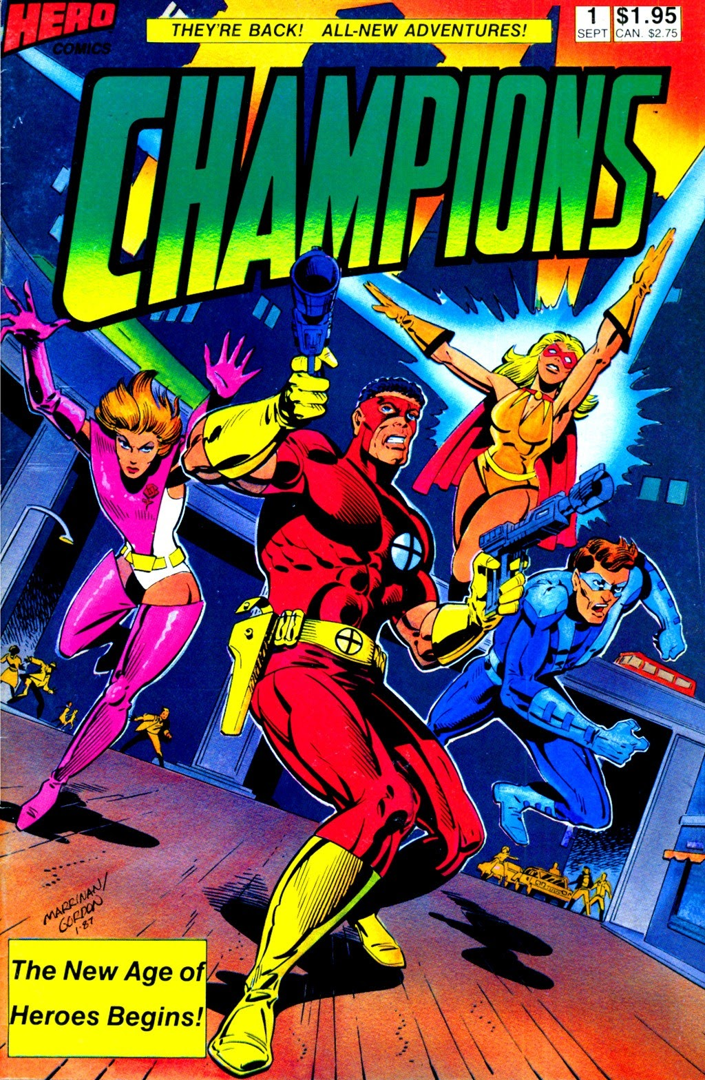 Champions (1987) 1 Page 1
