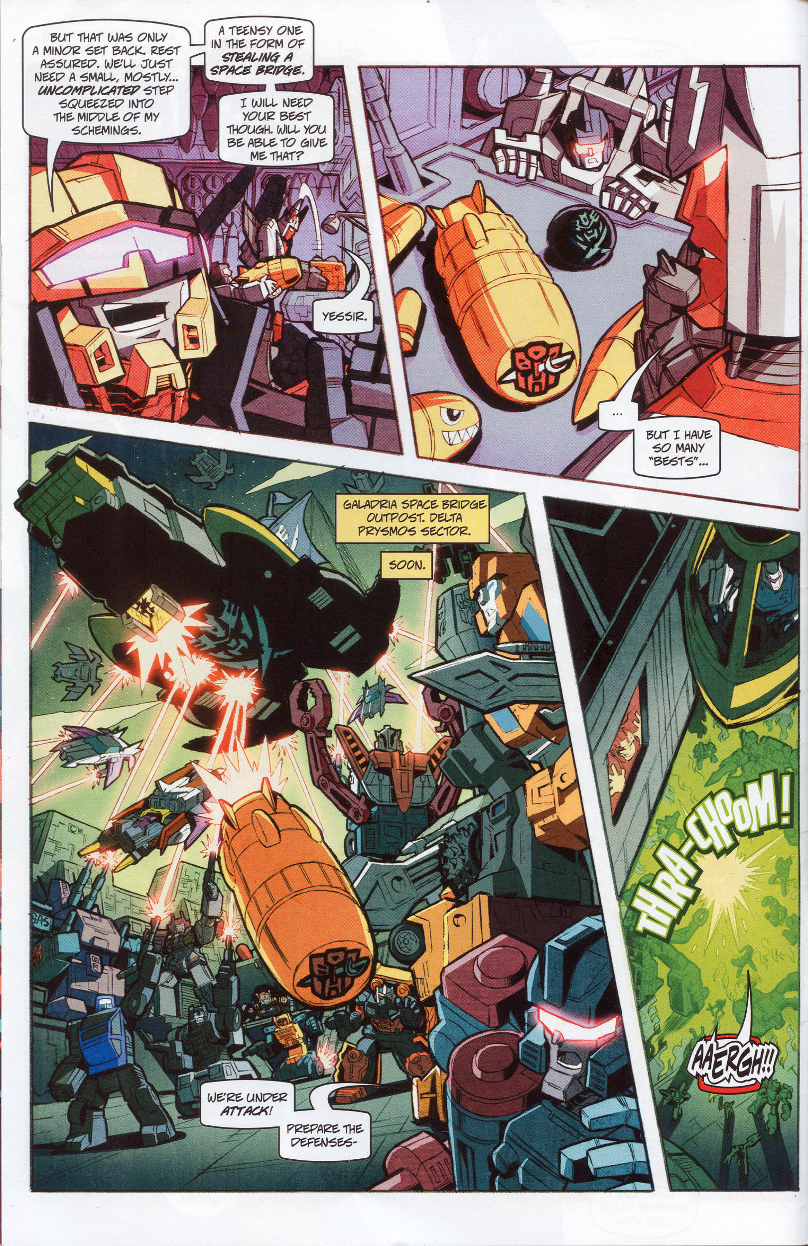 Read online Transformers: Timelines comic -  Issue #10 - 5