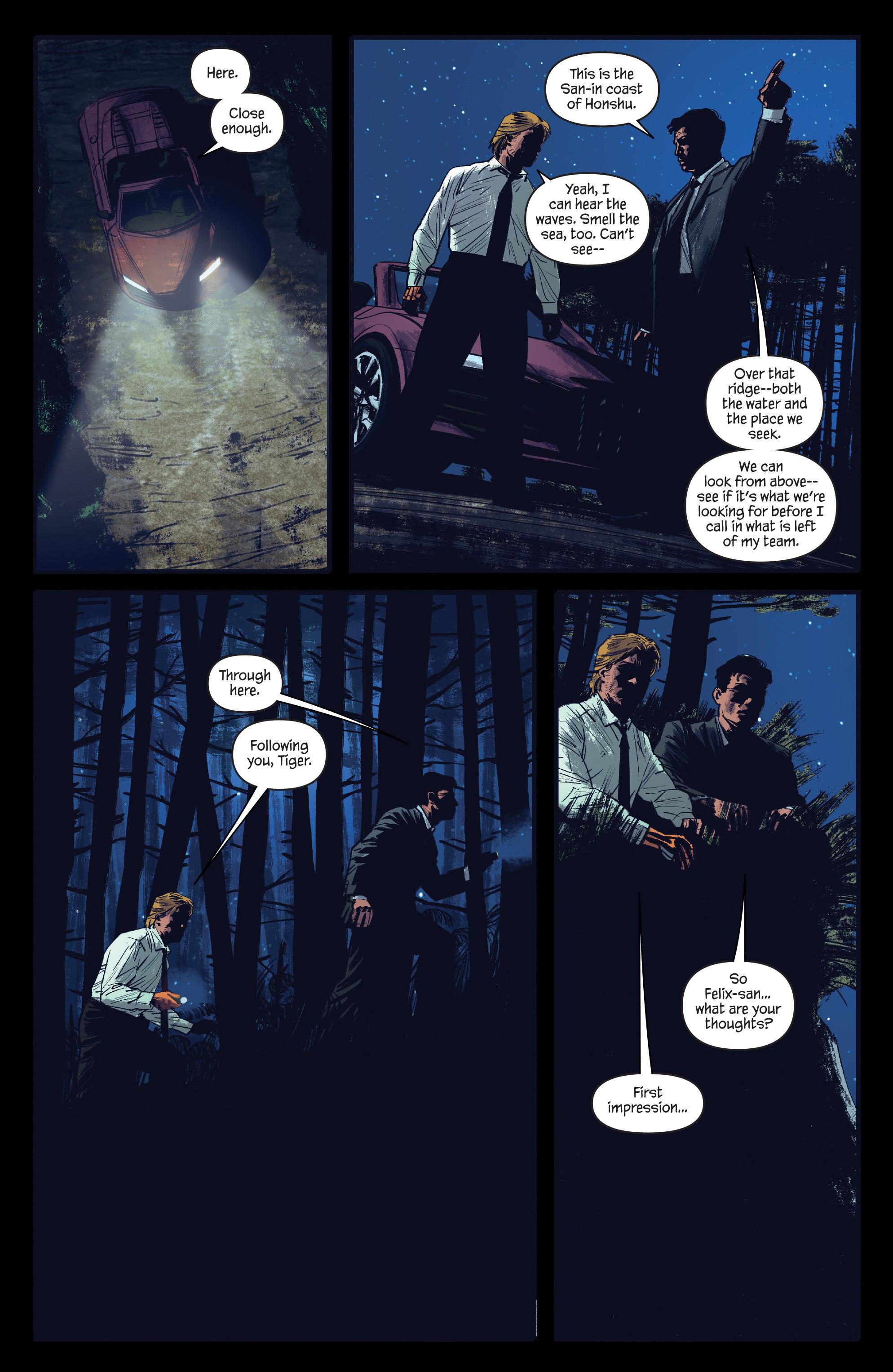 Read online James Bond: Felix Leiter comic -  Issue #4 - 15