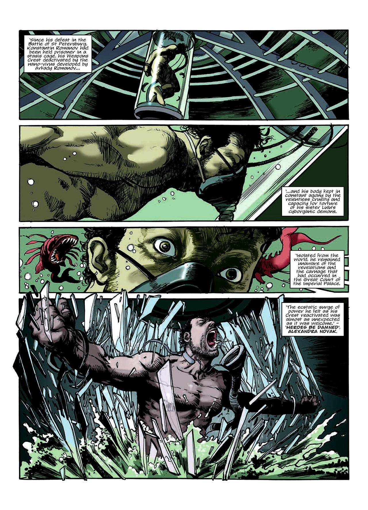 Read online Nikolai Dante comic -  Issue # TPB 10 - 129
