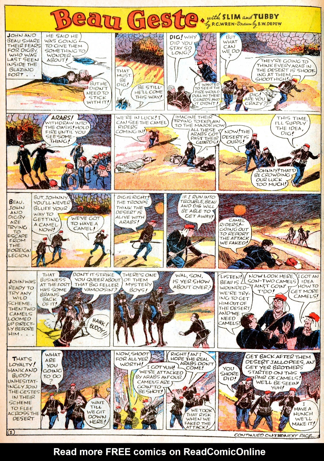 Read online Famous Funnies comic -  Issue #38 - 28