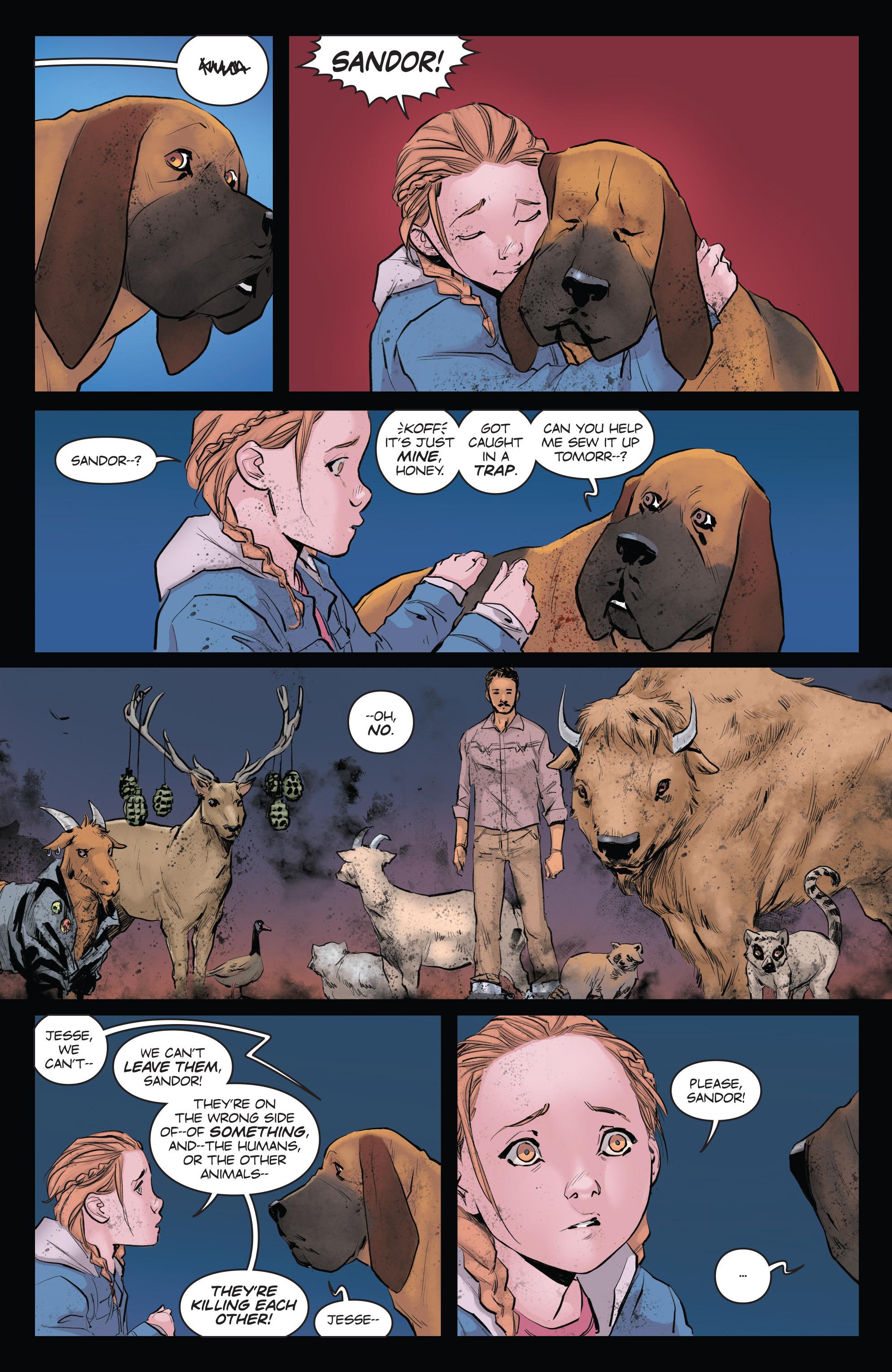 Read online Animosity comic -  Issue #4 - 19