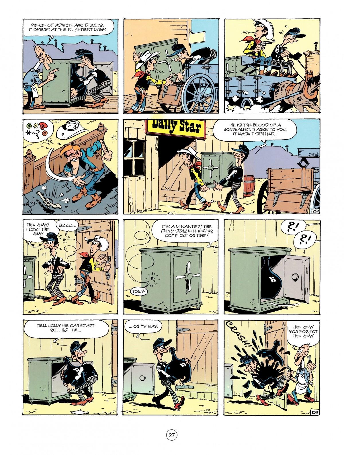 Read online A Lucky Luke Adventure comic -  Issue #41 - 27