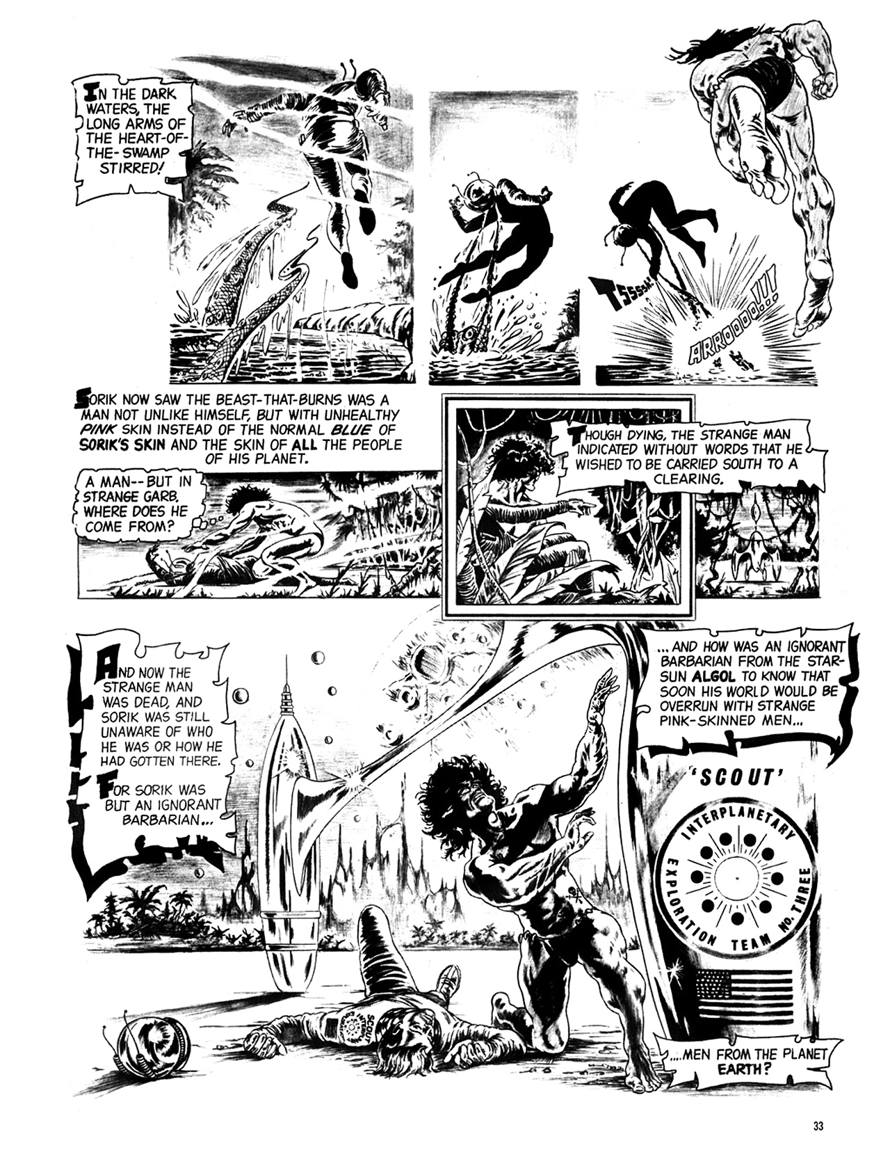 Read online Eerie Archives comic -  Issue # TPB 6 - 34