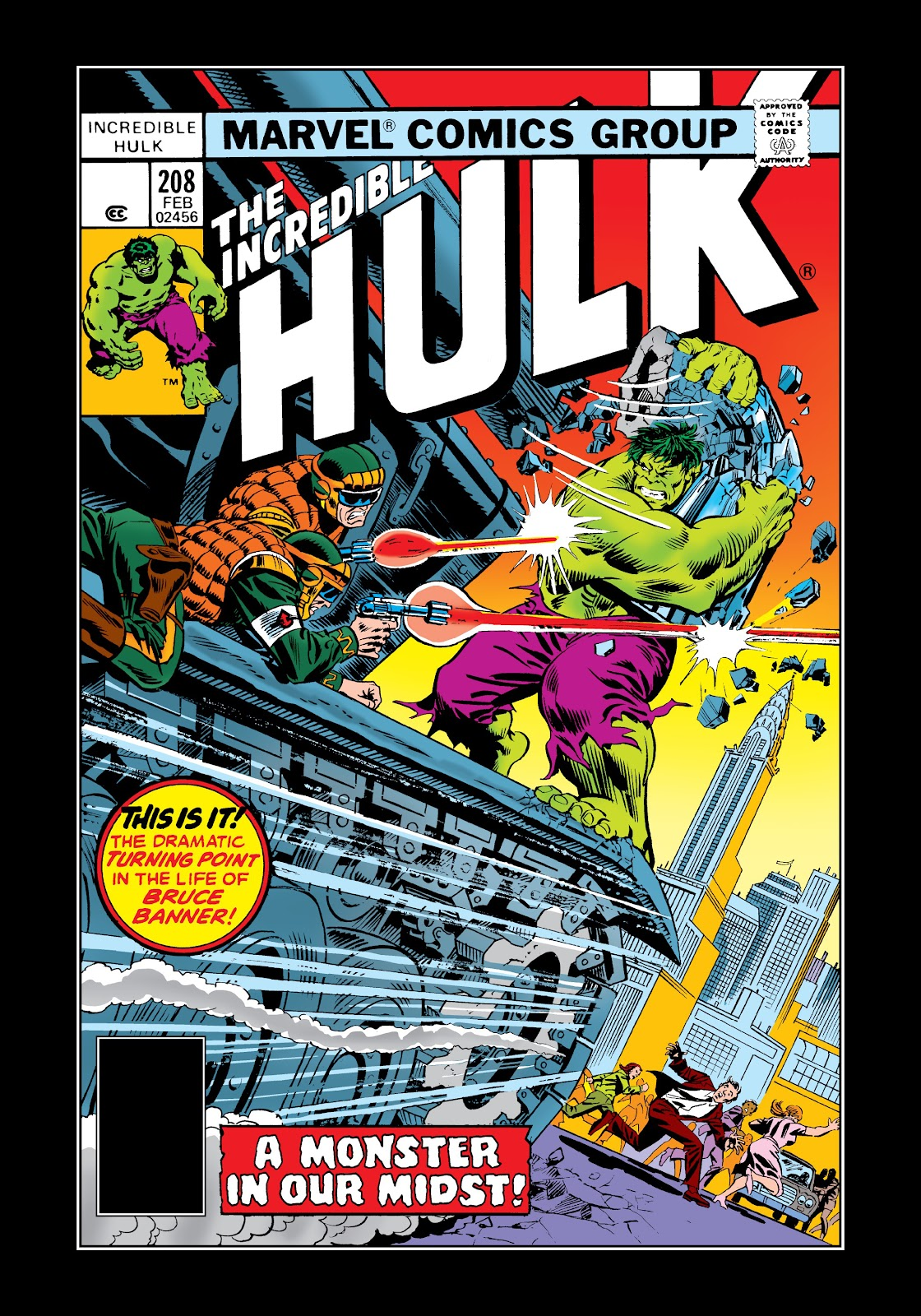 Read online Marvel Masterworks: The Incredible Hulk comic -  Issue # TPB 12 (Part 3) - 46
