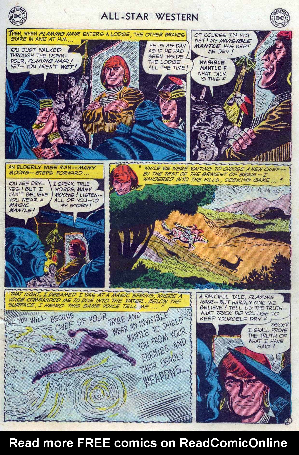 Read online All-Star Western (1951) comic -  Issue #85 - 13