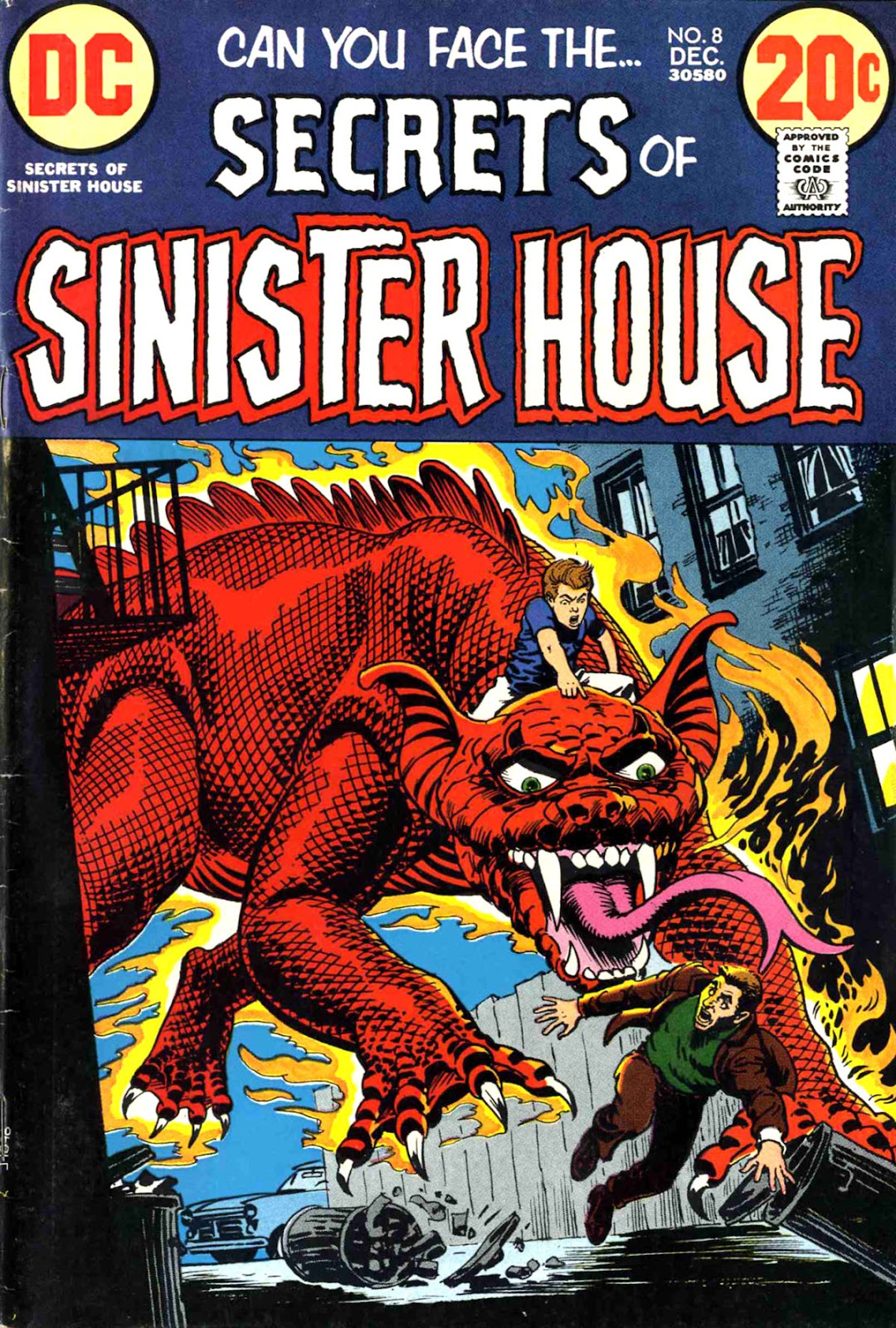 Secrets of Sinister House (1972) 8 Page 1
