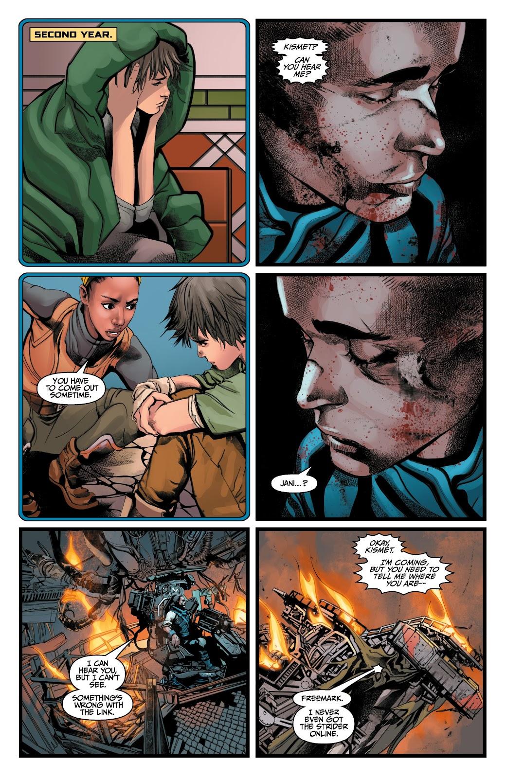Read online Anthem comic -  Issue #3 - 16