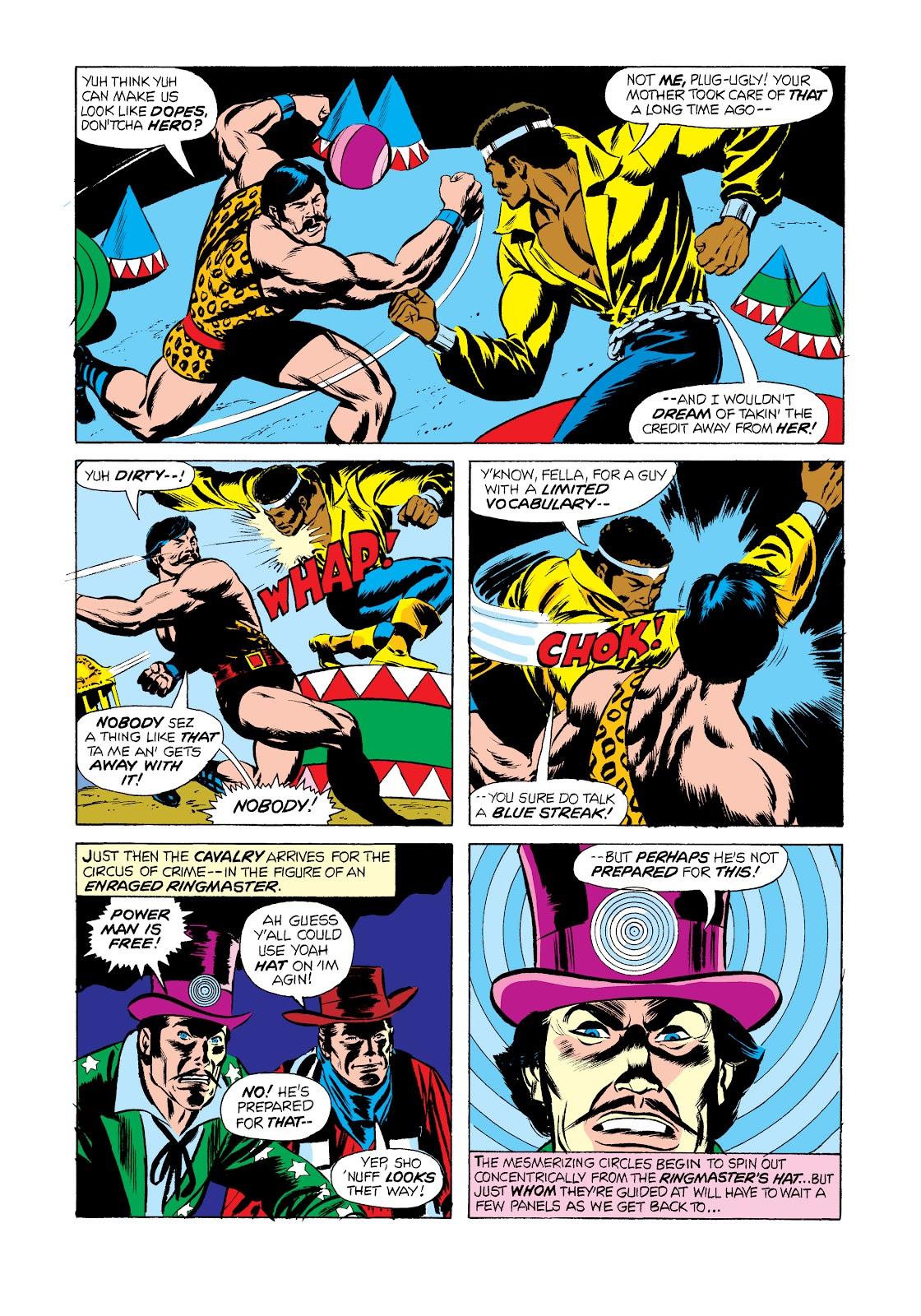 Read online Marvel Masterworks: Luke Cage, Power Man comic -  Issue # TPB 2 (Part 2) - 73