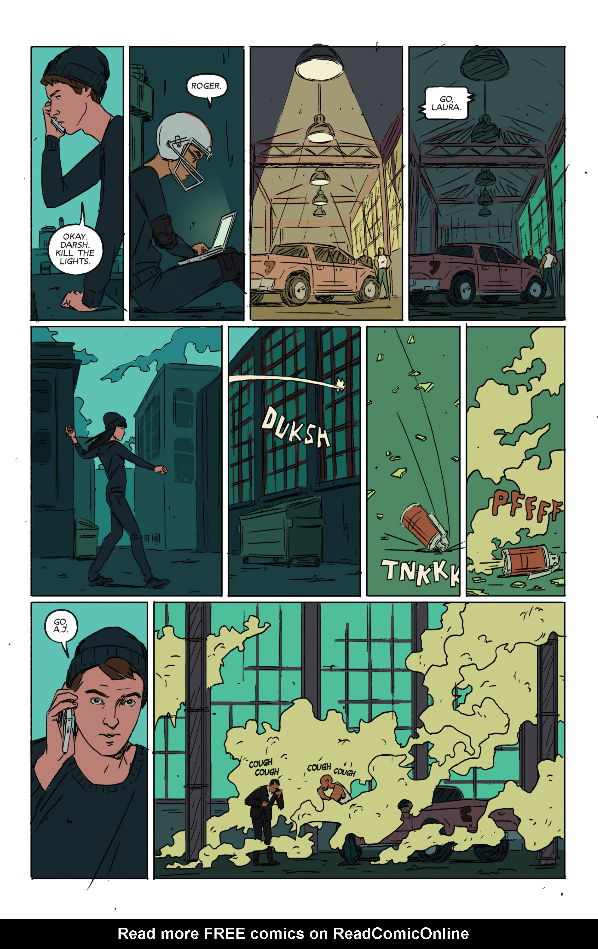 Read online Night Owl Society comic -  Issue #2 - 6